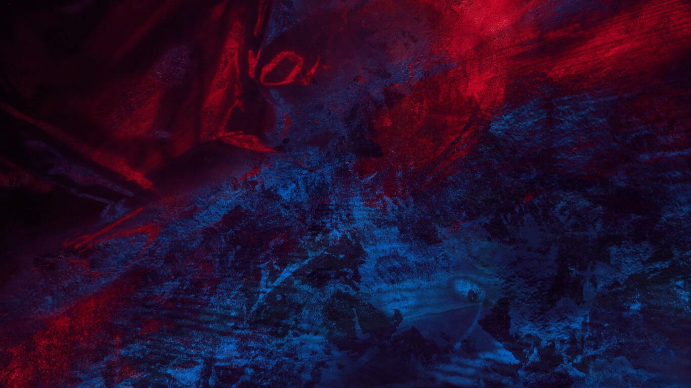 1366x768 Abstract Blue Red Splash Thick 4k 1366x768 ...