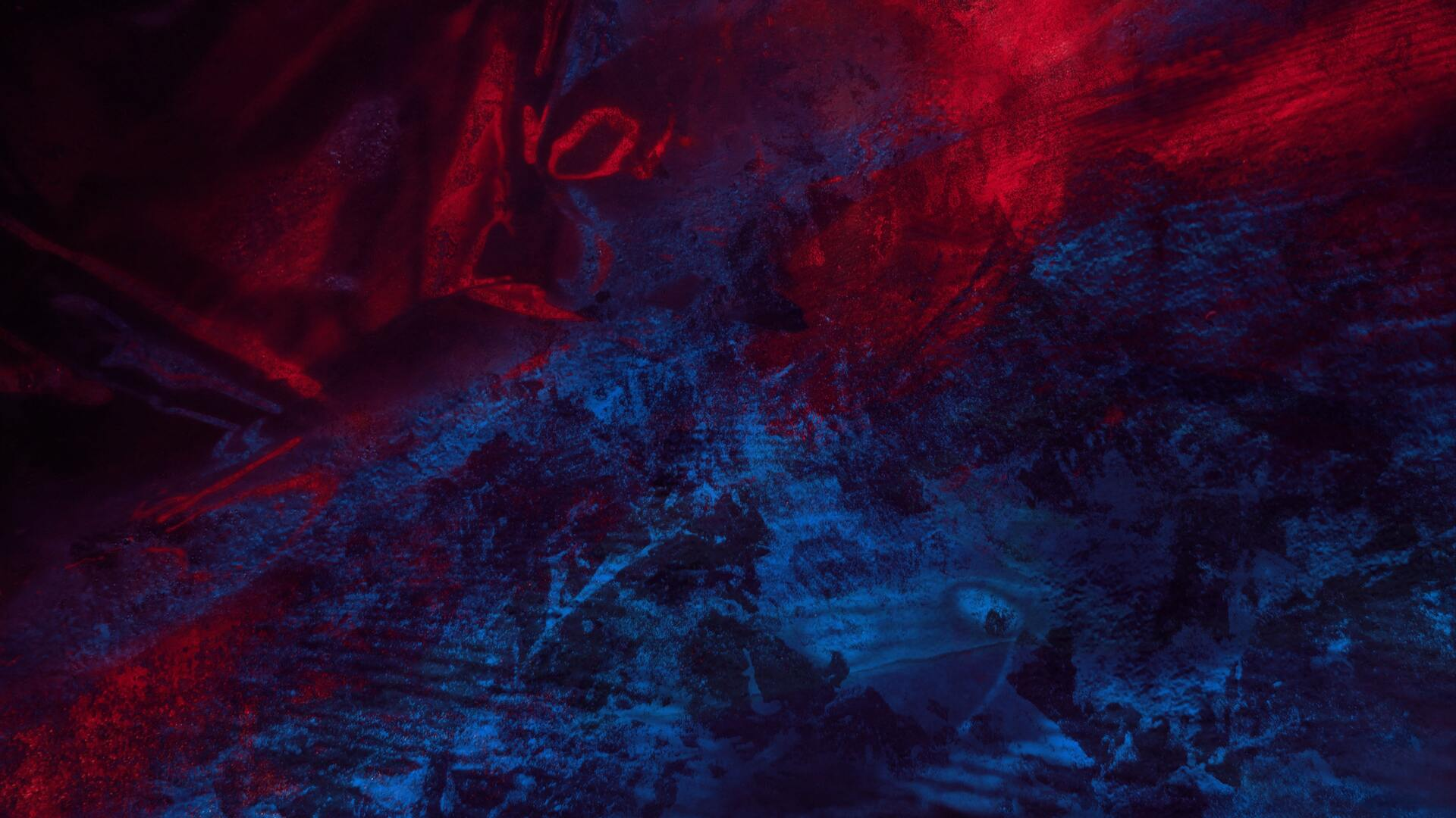 1920x1080 Abstract Blue Red Splash Thick 4k Laptop Full HD ...