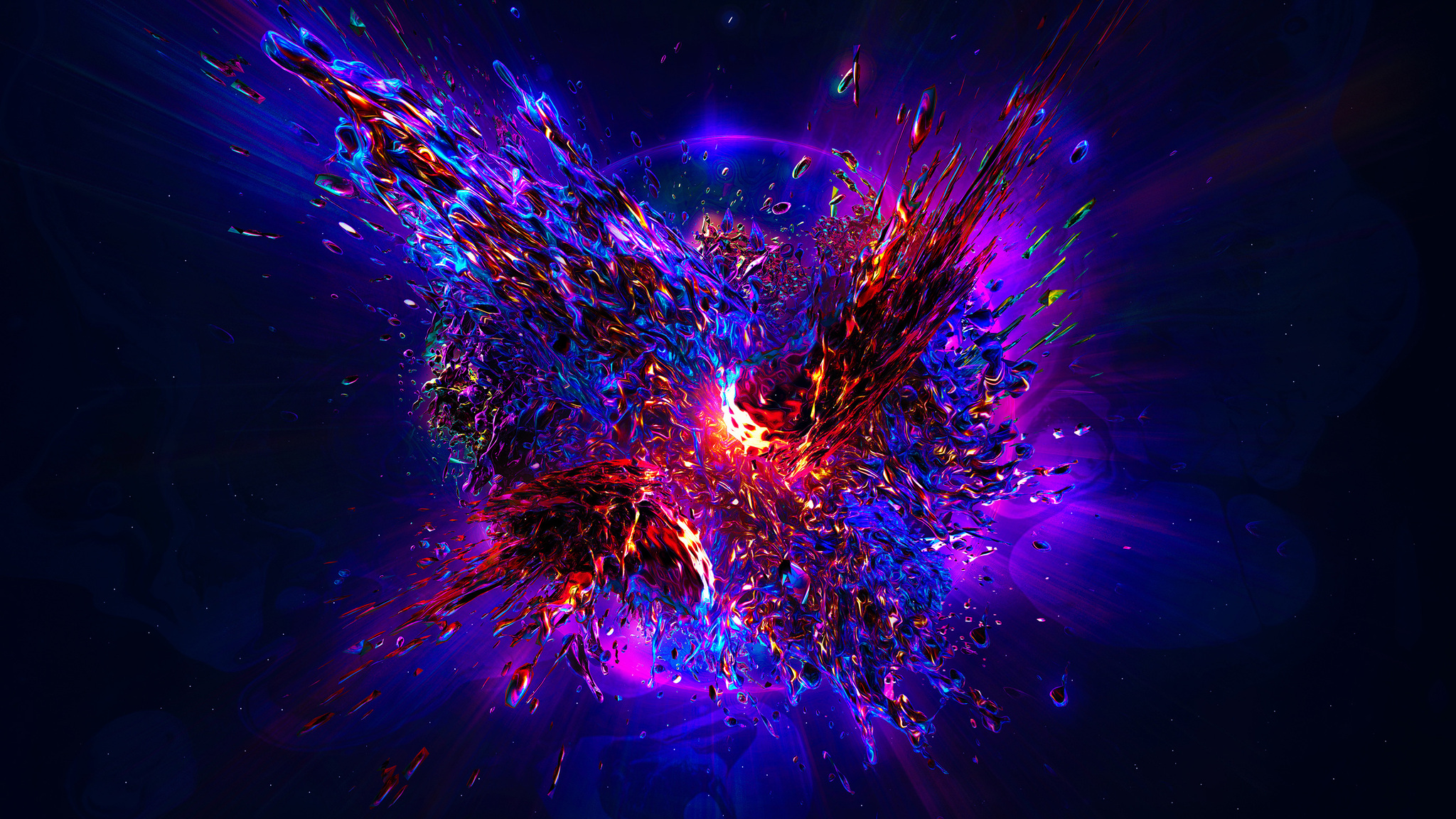 2048x1152 Abstract Explosion Resolution HD 4k Wallpapers