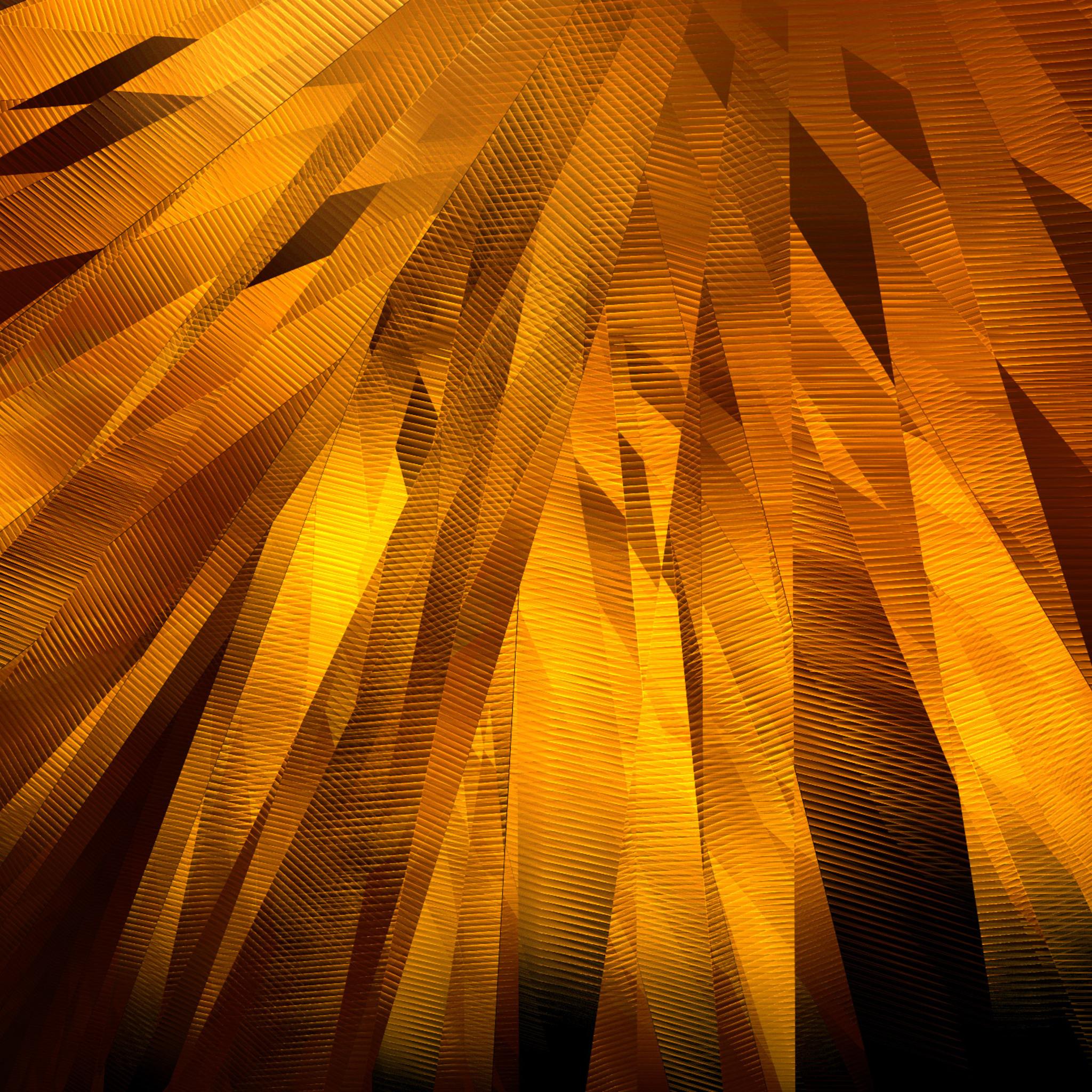 2048x2048 Abstract Golden Belts Ipad Air HD 4k Wallpapers