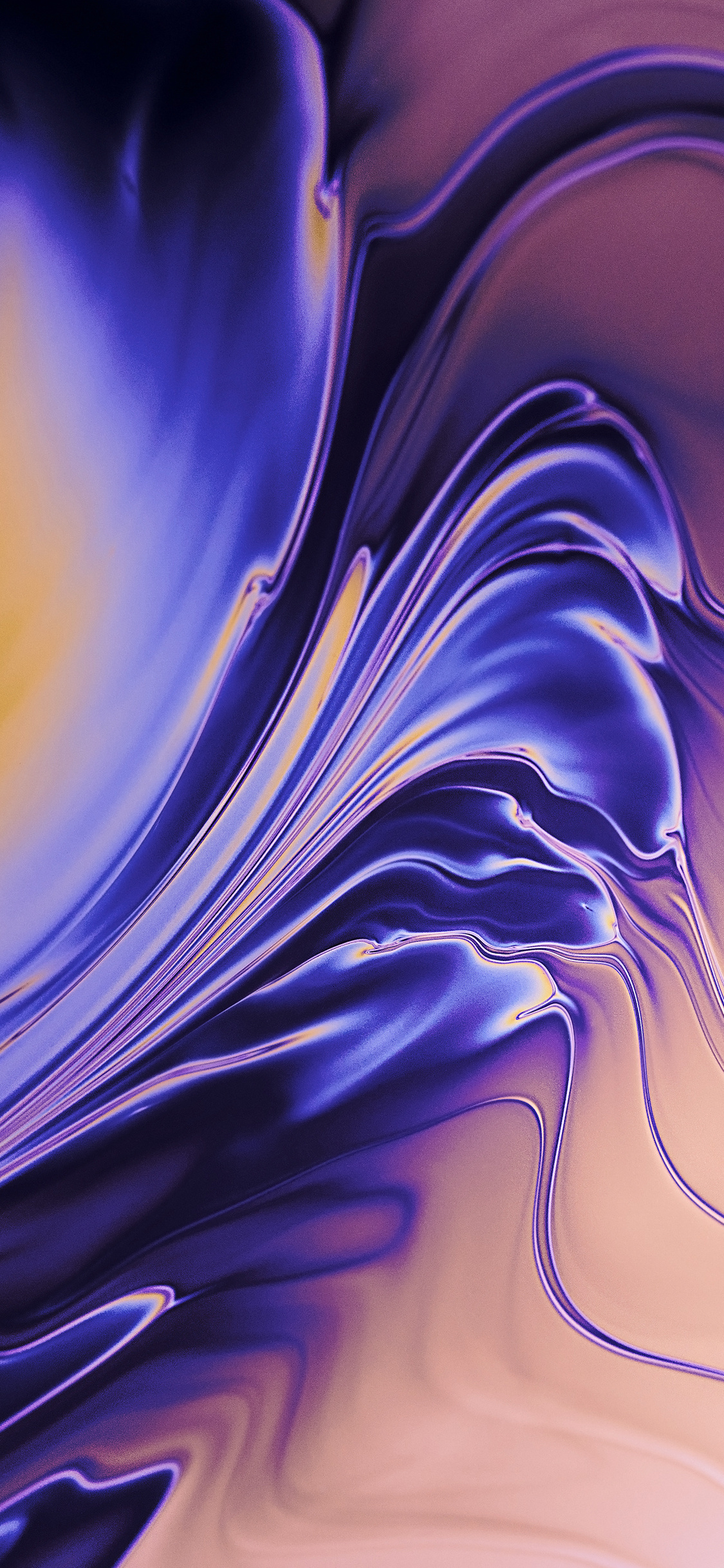 1125x2436 Abstract Liquid Flare 5k Iphone Xsiphone 10