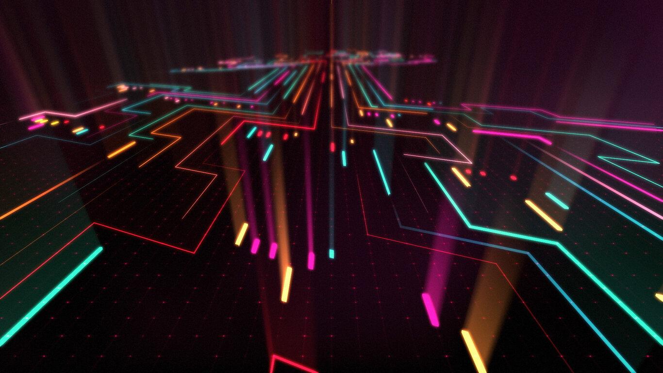1366x768 Abstract Neon Digital Art 1366x768 Resolution Hd 4k