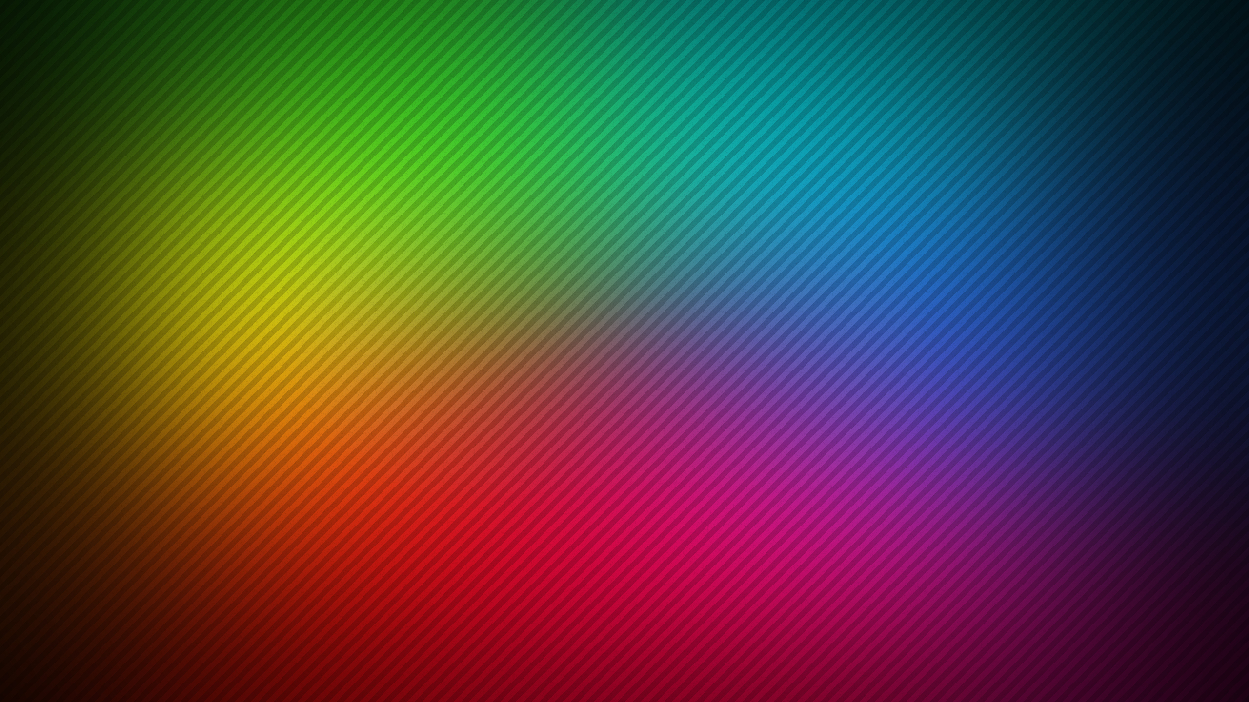 abstract rainbow lines hd p9