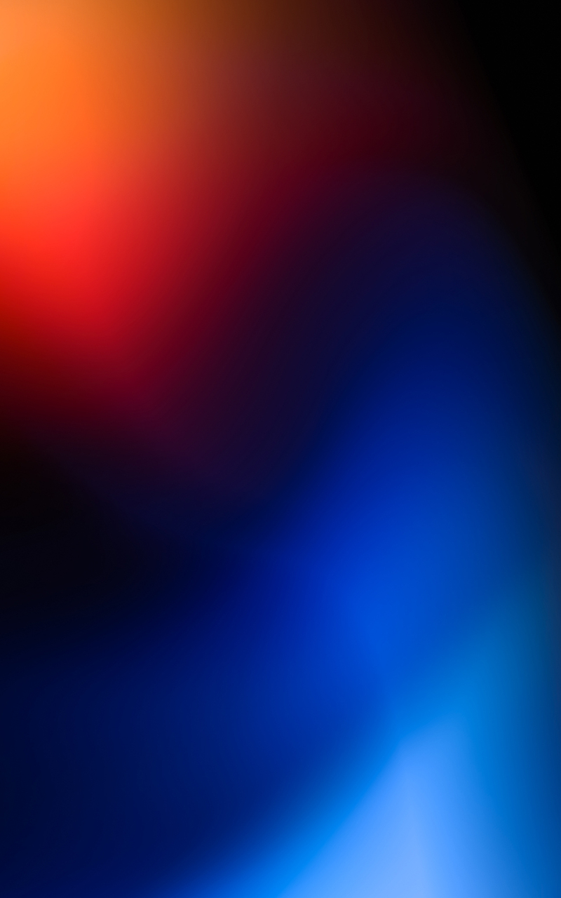 abstract red blue blur 4k yt