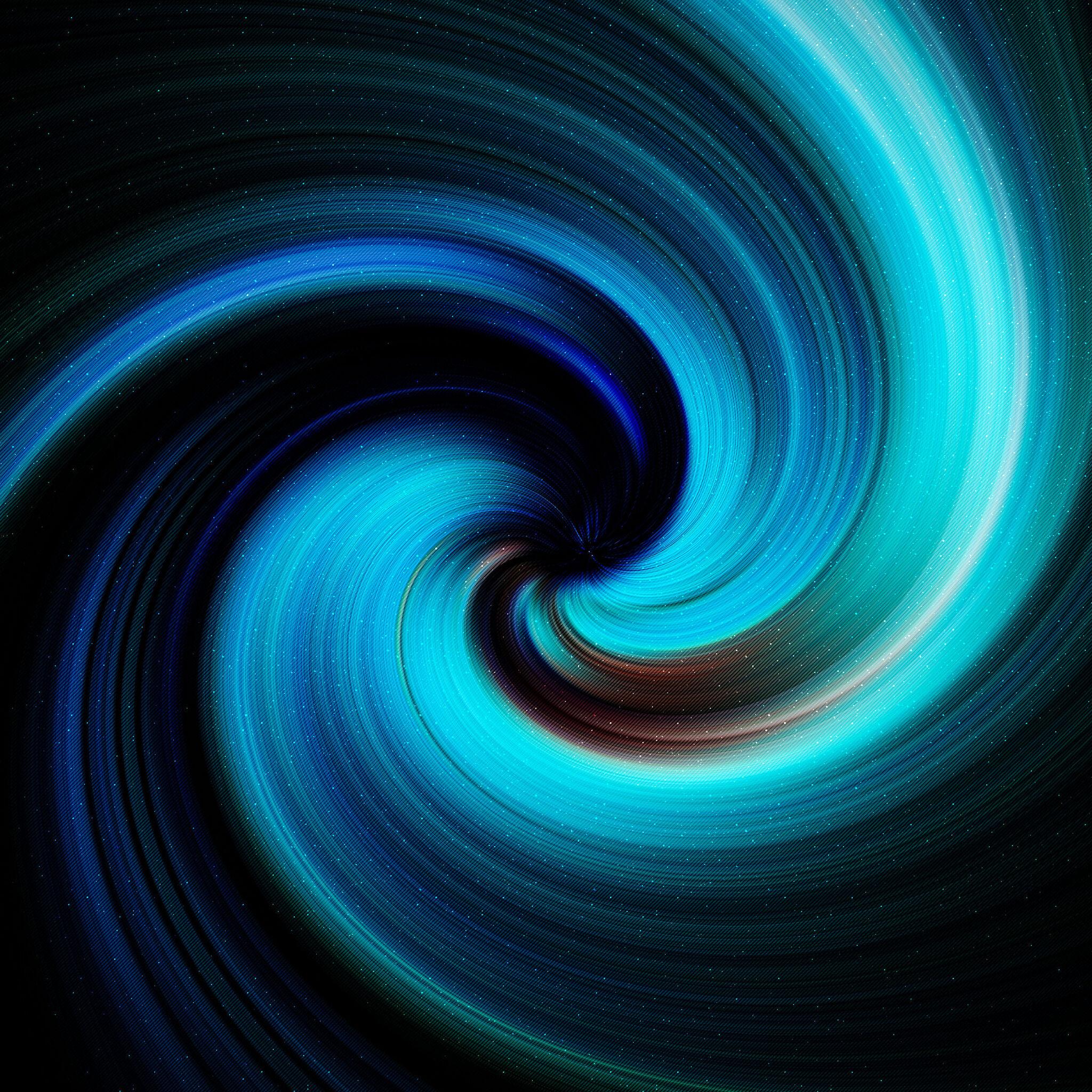 2048x2048 Abstract Spiral Artwork 4k Ipad Air HD 4k