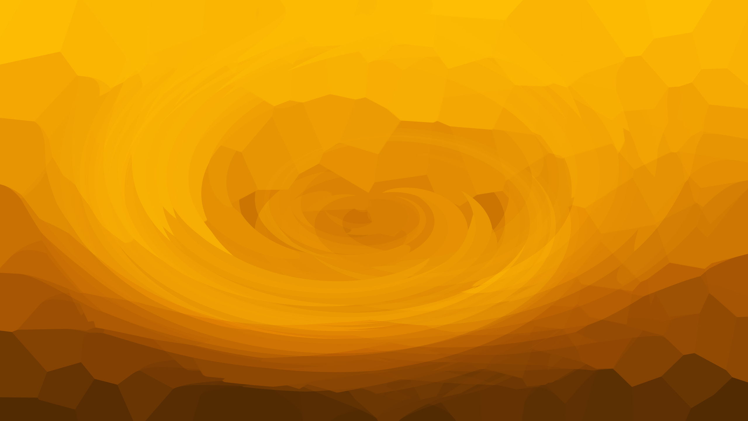 2560x1440 Abstract Yellow Simple Background 4k 1440P