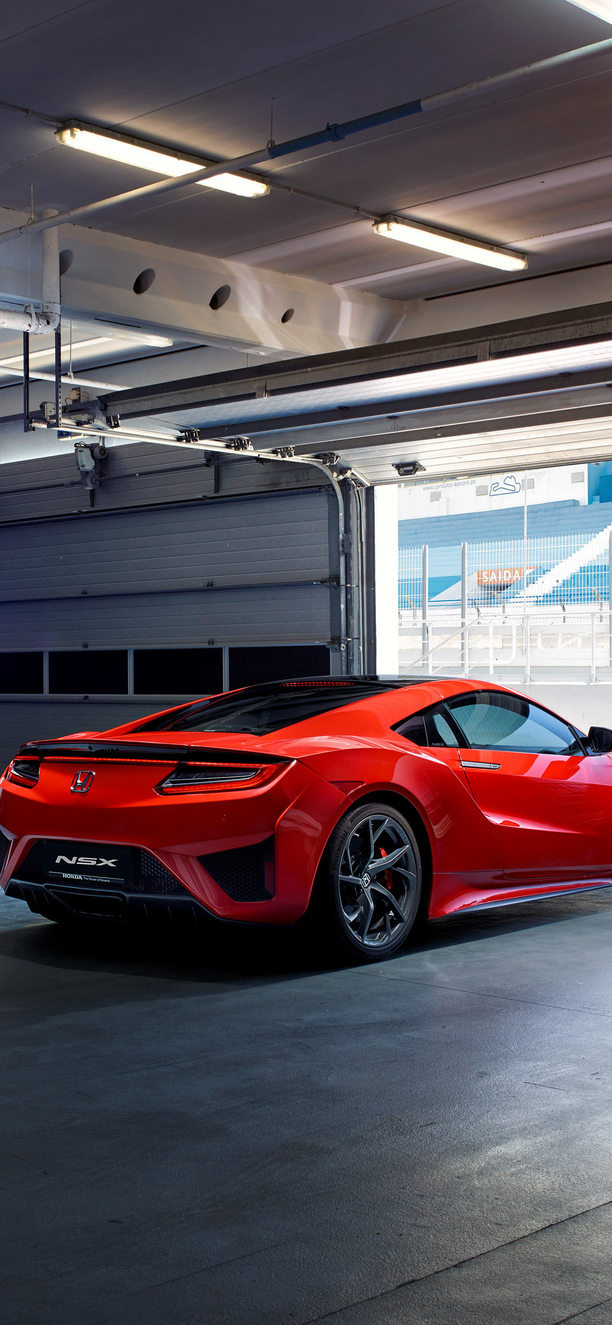 640x960 Red Acura Nsx Iphone 4 Wallpaper