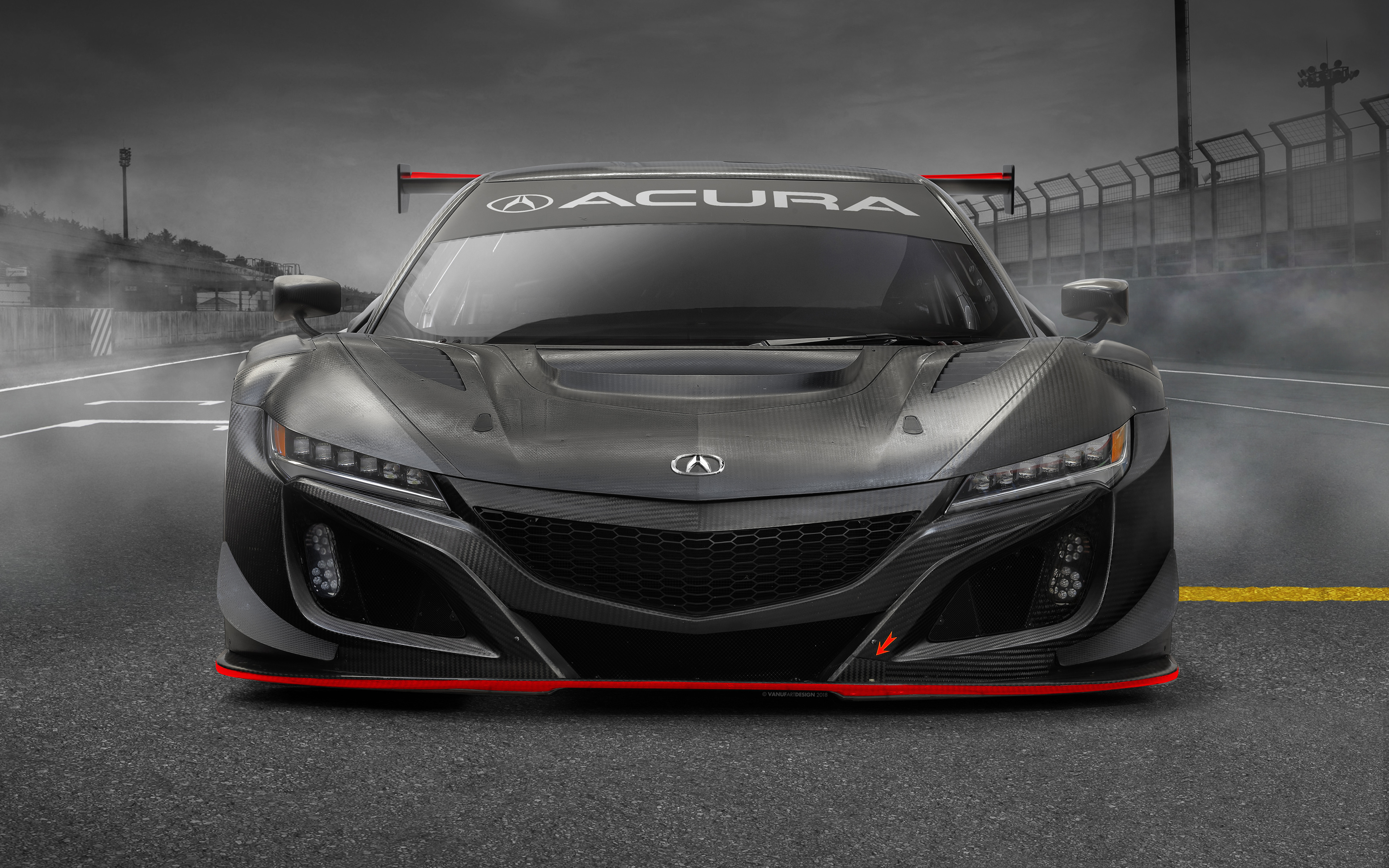 3840x2400 acura nsx gt3 evo 2019 front 4k hd 4k wallpapers  images  backgrounds  photos and pictures