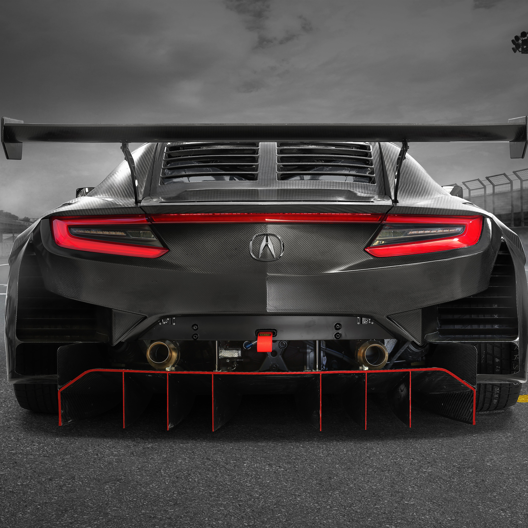 Supercars Gallery: Acura Nsx 2016 4k 5k Wallpapers