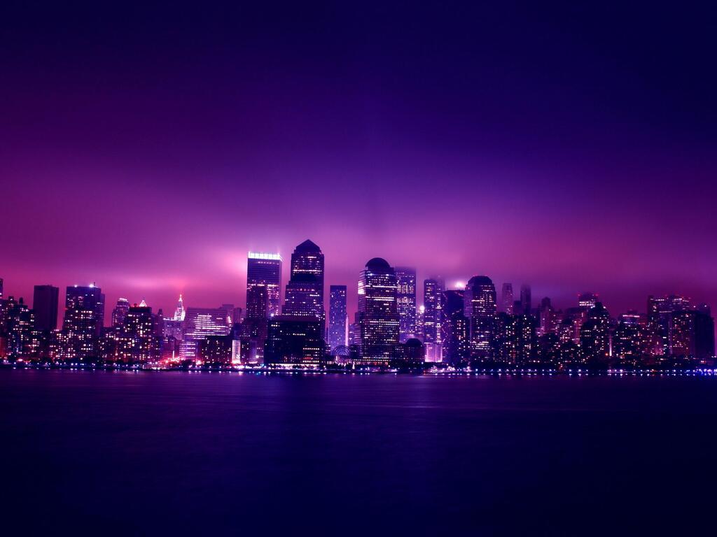 1024x768 Aesthetic City Night Lights 1024x768 Resolution Hd