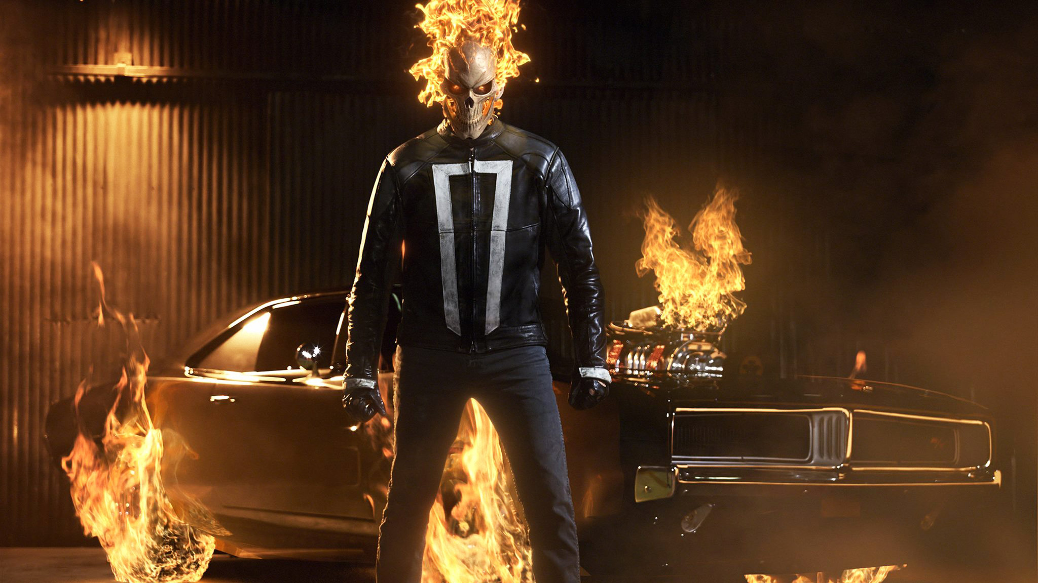 2048x1152 agents of shield ghost rider 2048x1152 resolution hd 4k