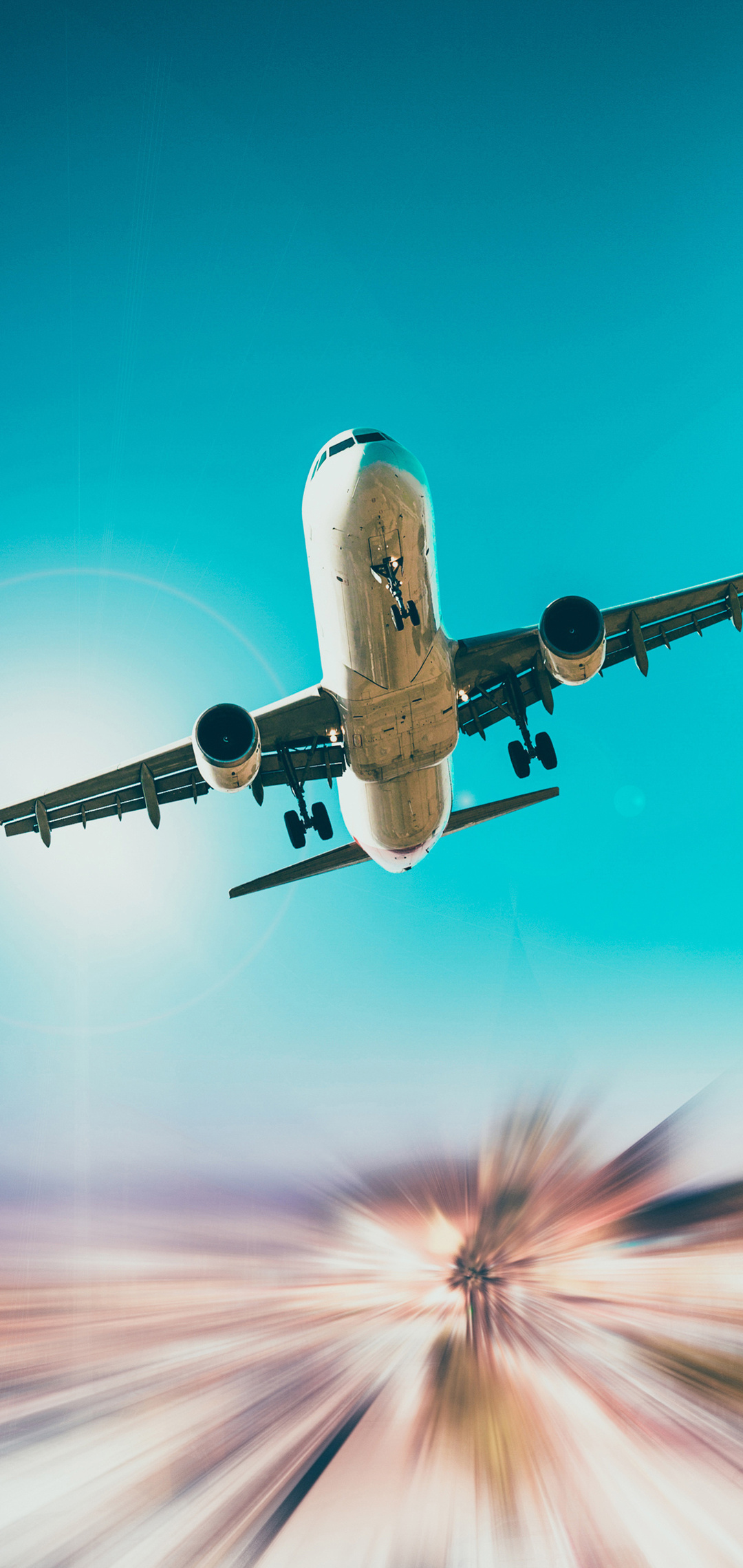 1080x2280 Airplane 5k One Plus 6 Huawei P20 Honor View 10 Vivo Y85