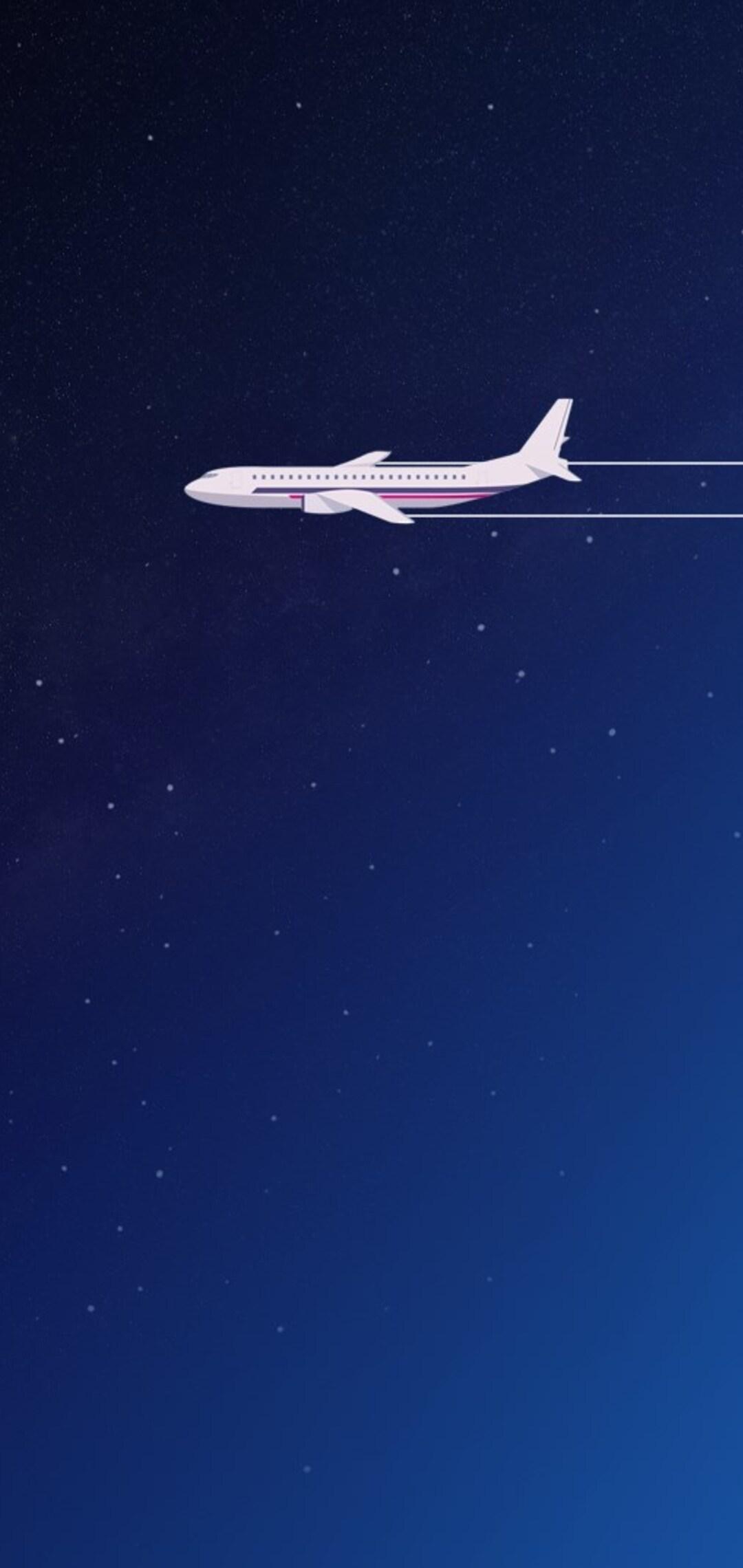 1080x2280 Airplane Digital Art One Plus 6 Huawei P20 Honor View 10