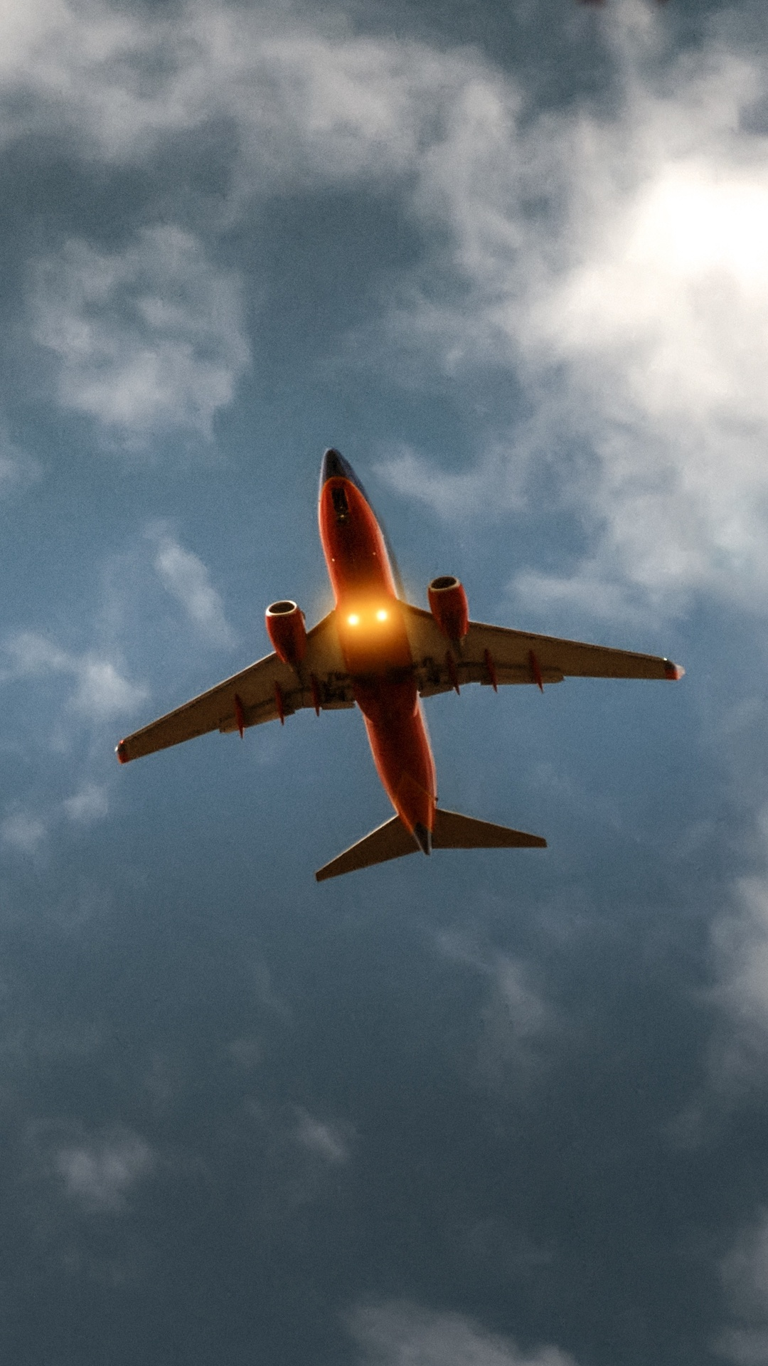 Airplane Sky Cloud Flight 5k Rf