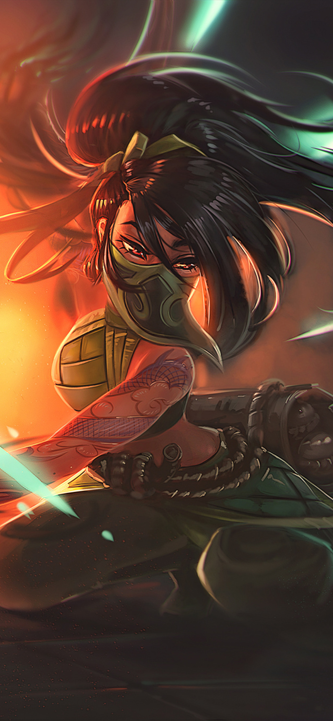 Akali League Of Legends Art Fz