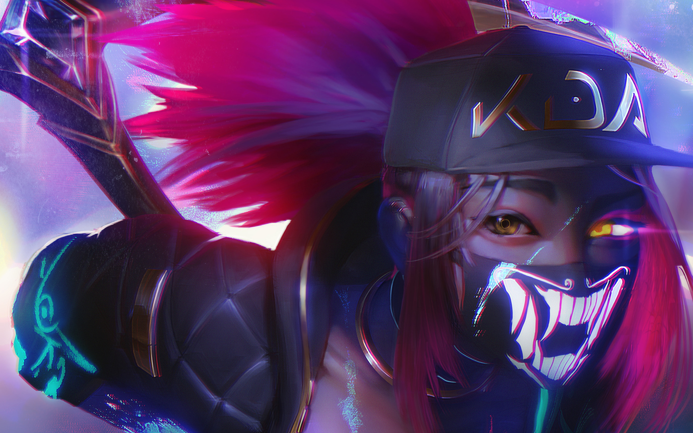 1440x900 Akali League Of Legends Fan Art 1440x900 Resolution