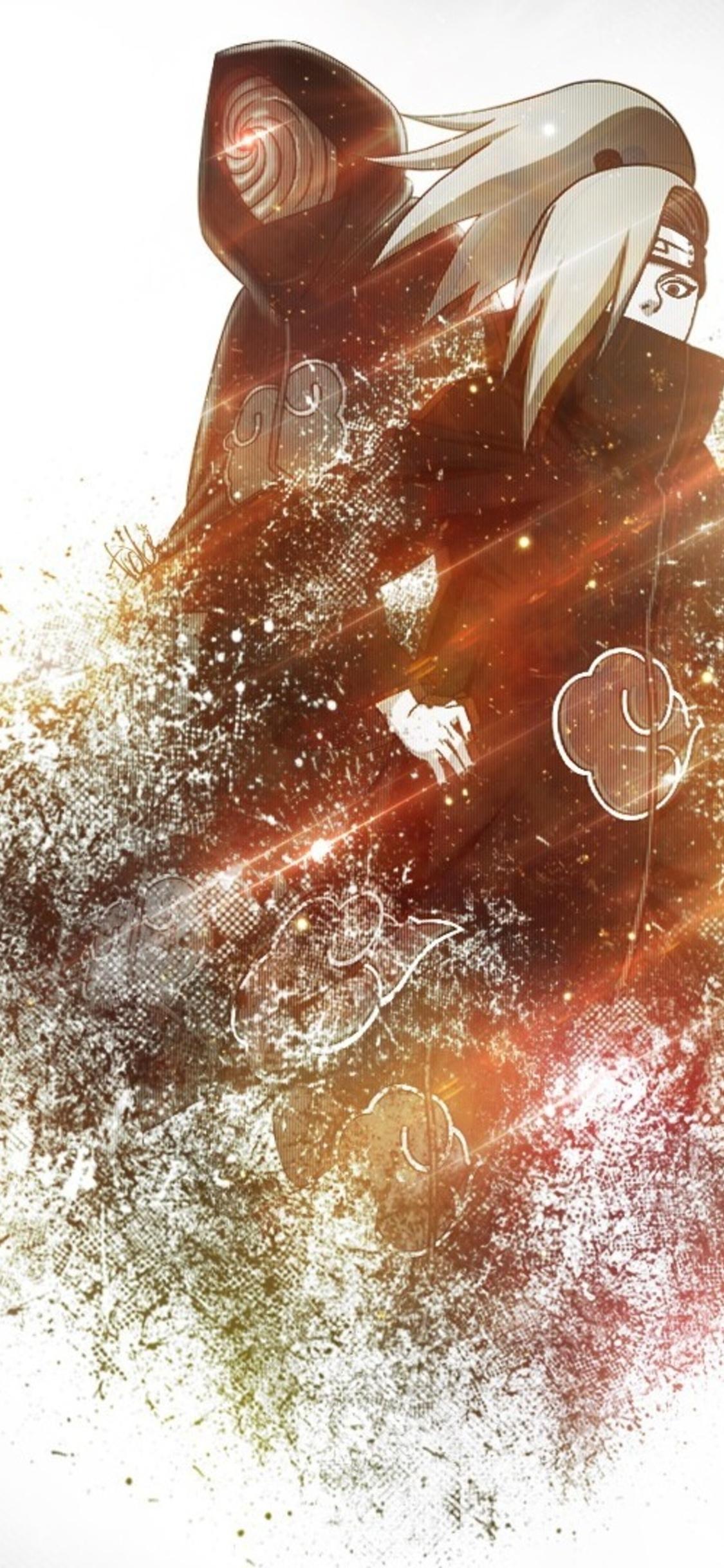 1125x2436 Akatsuki Naruto Anime Iphone Xs Iphone 10 Iphone X