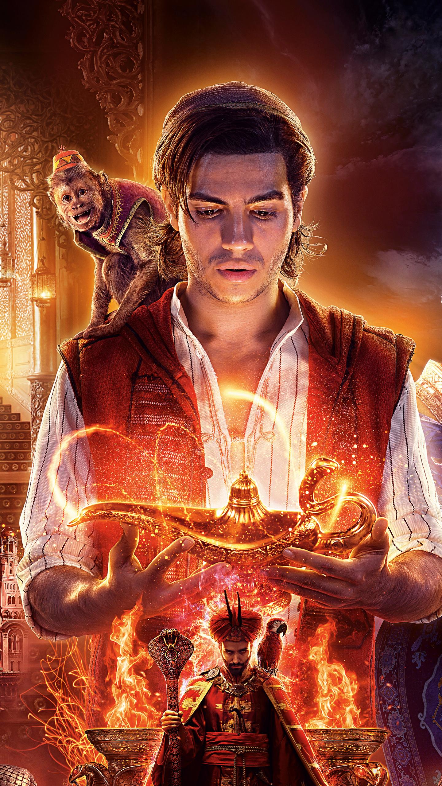 Aladdin wallpaper 2019 hd free photo and wallpaper - Aladdin 2019 poster ...