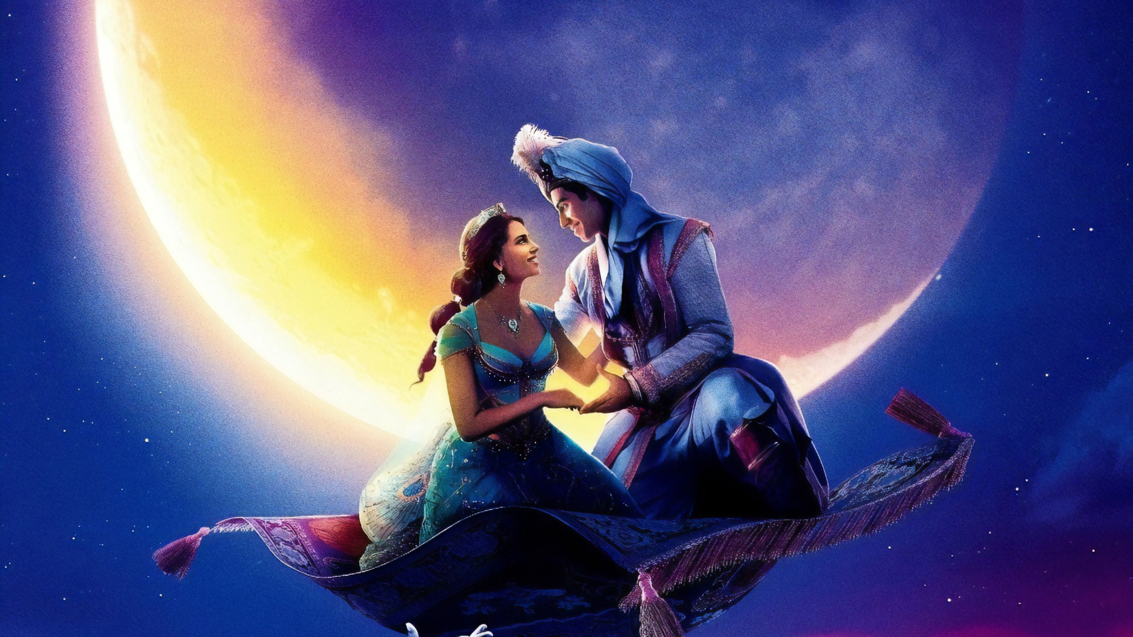 Movie Poster 2019: 3840x2160 Aladdin 2019 Movie Poster 4k HD 4k Wallpapers