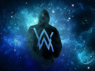 320x240 alan walker apple iphone ipod touch galaxy ace hd 4k wallpapers images backgrounds - Alan walker logo galaxy ...