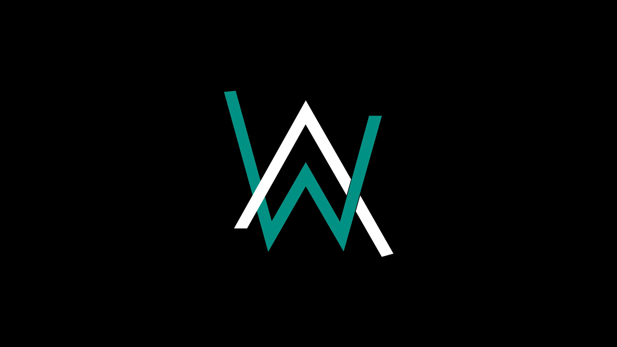 2048x1152 alan walker logo 4k 2048x1152 resolution hd 4k wallpapers