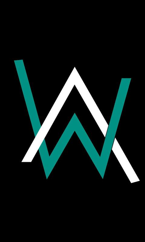 Alan Walker Logo 4k Qhd