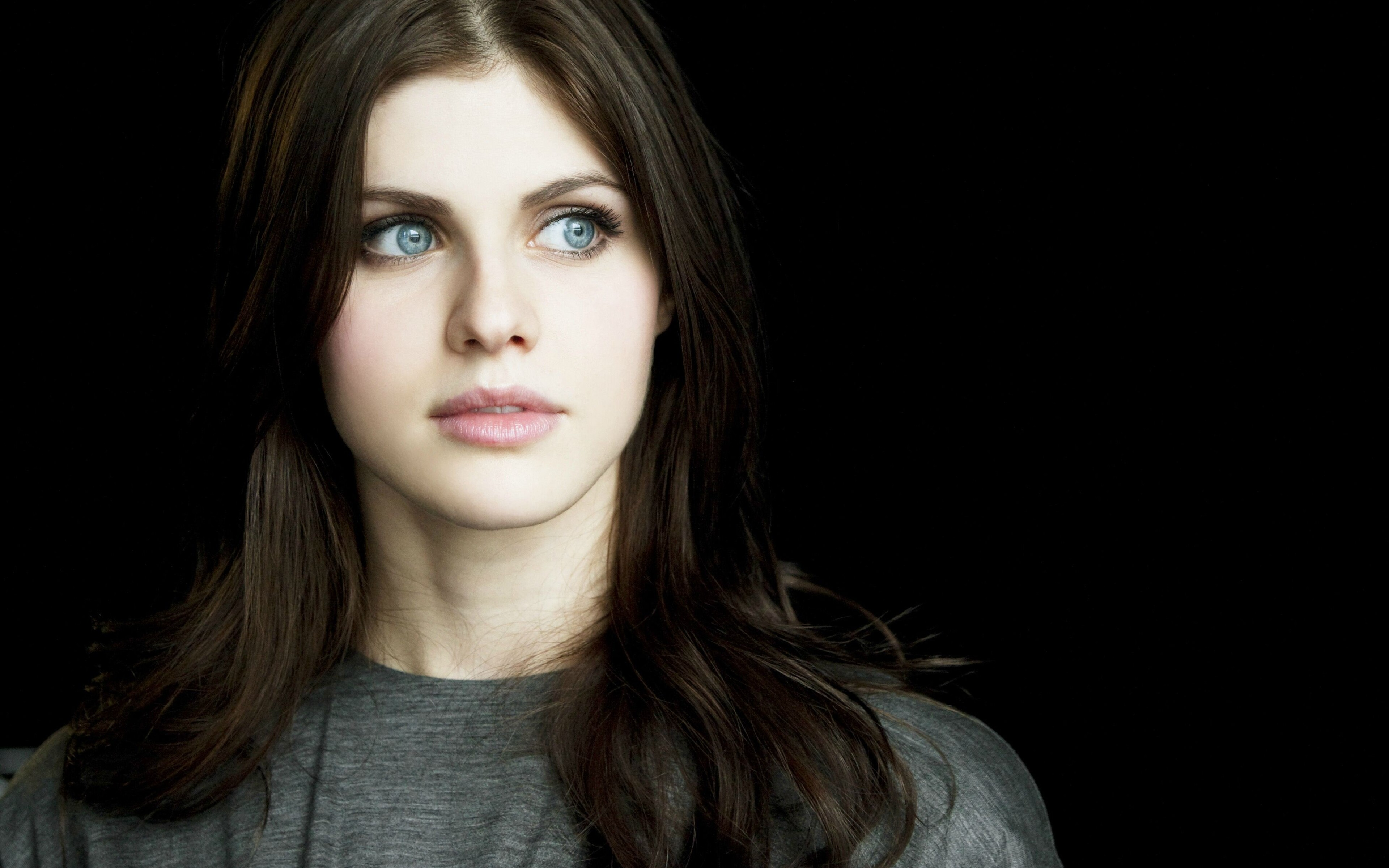 Alexandra Daddario Beautiful Eyes 4k Cl