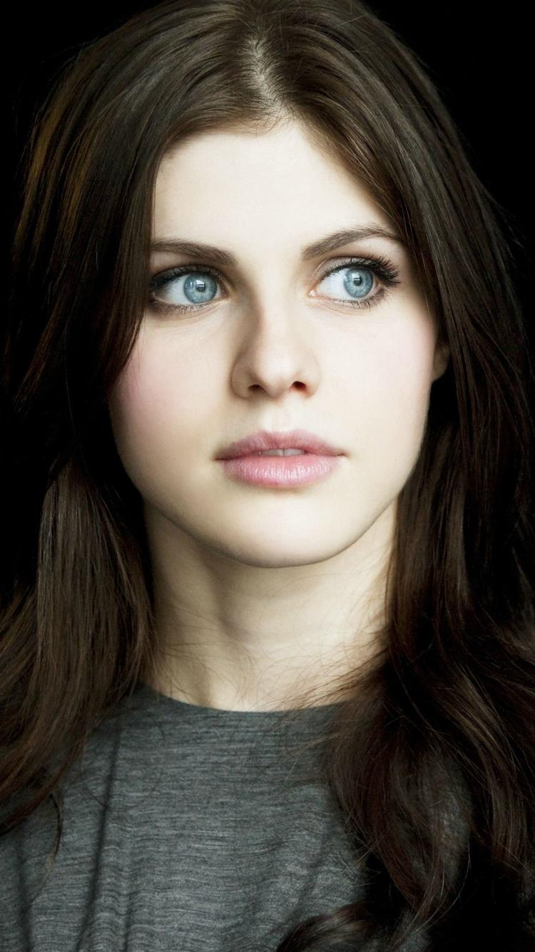 750x1334 Alexandra Daddario Beautiful Eyes 4k Iphone 6