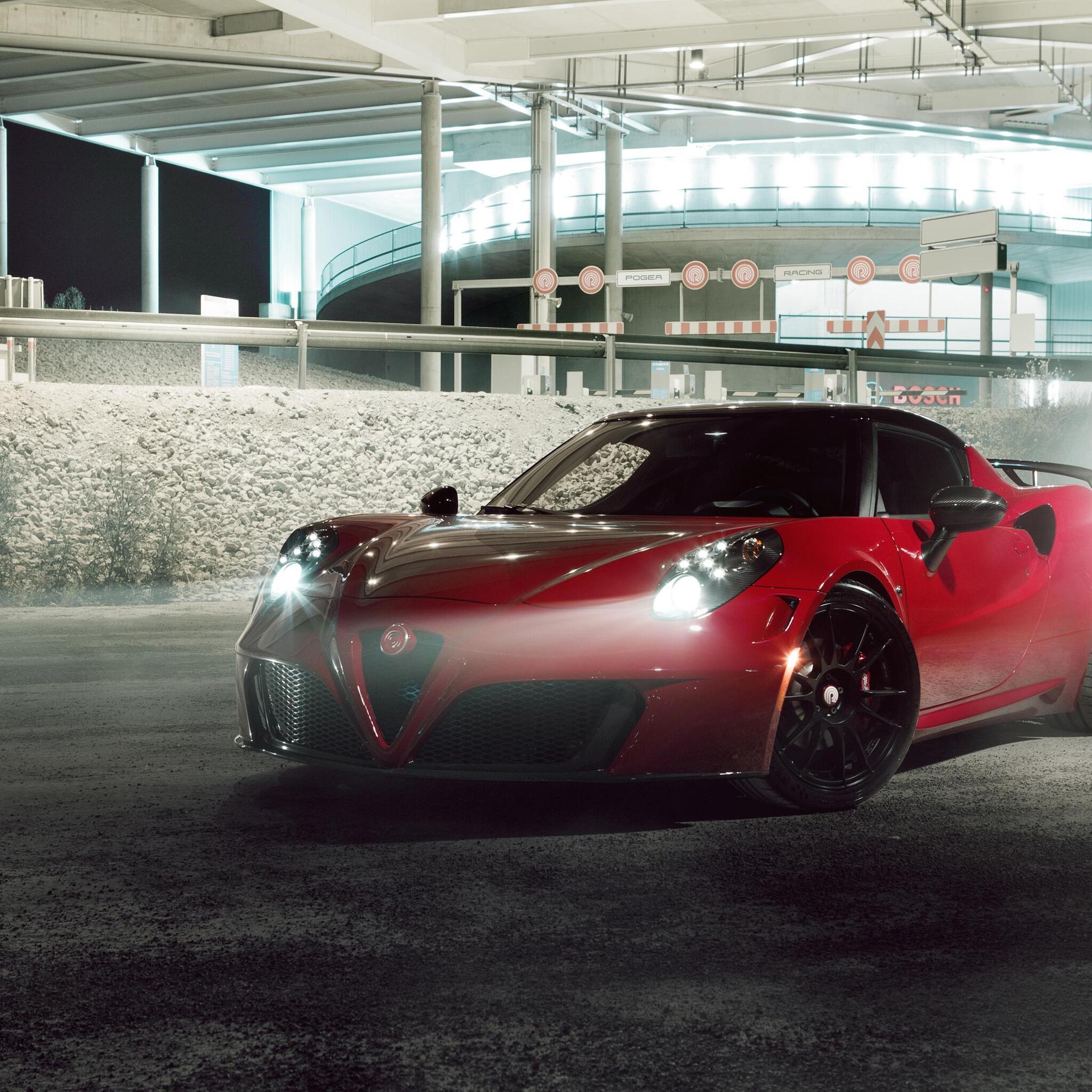 2048x2048 Alfa Romeo 4C By Pogea Racing Ipad Air HD 4k