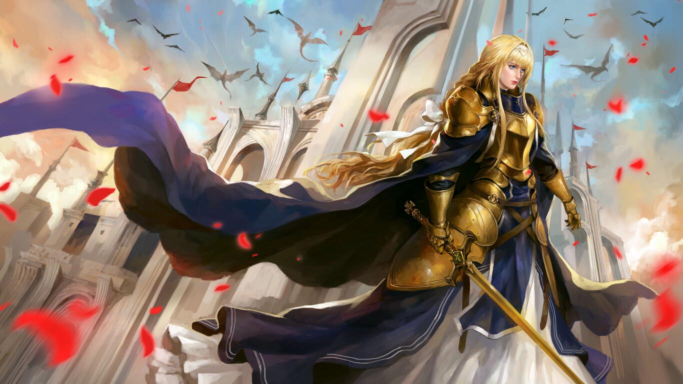 1366x768 Alice Zuberg Sword Art Online 8k 1366x768 ...