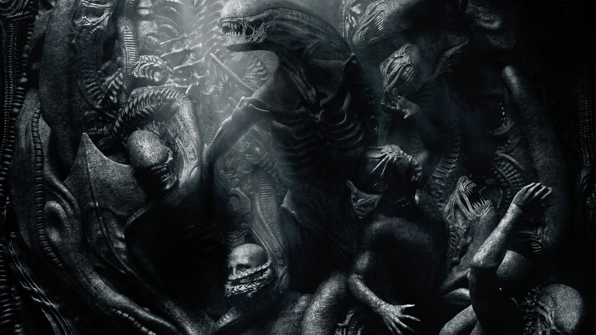 Alien Covenant Qhd Prometheus Logo