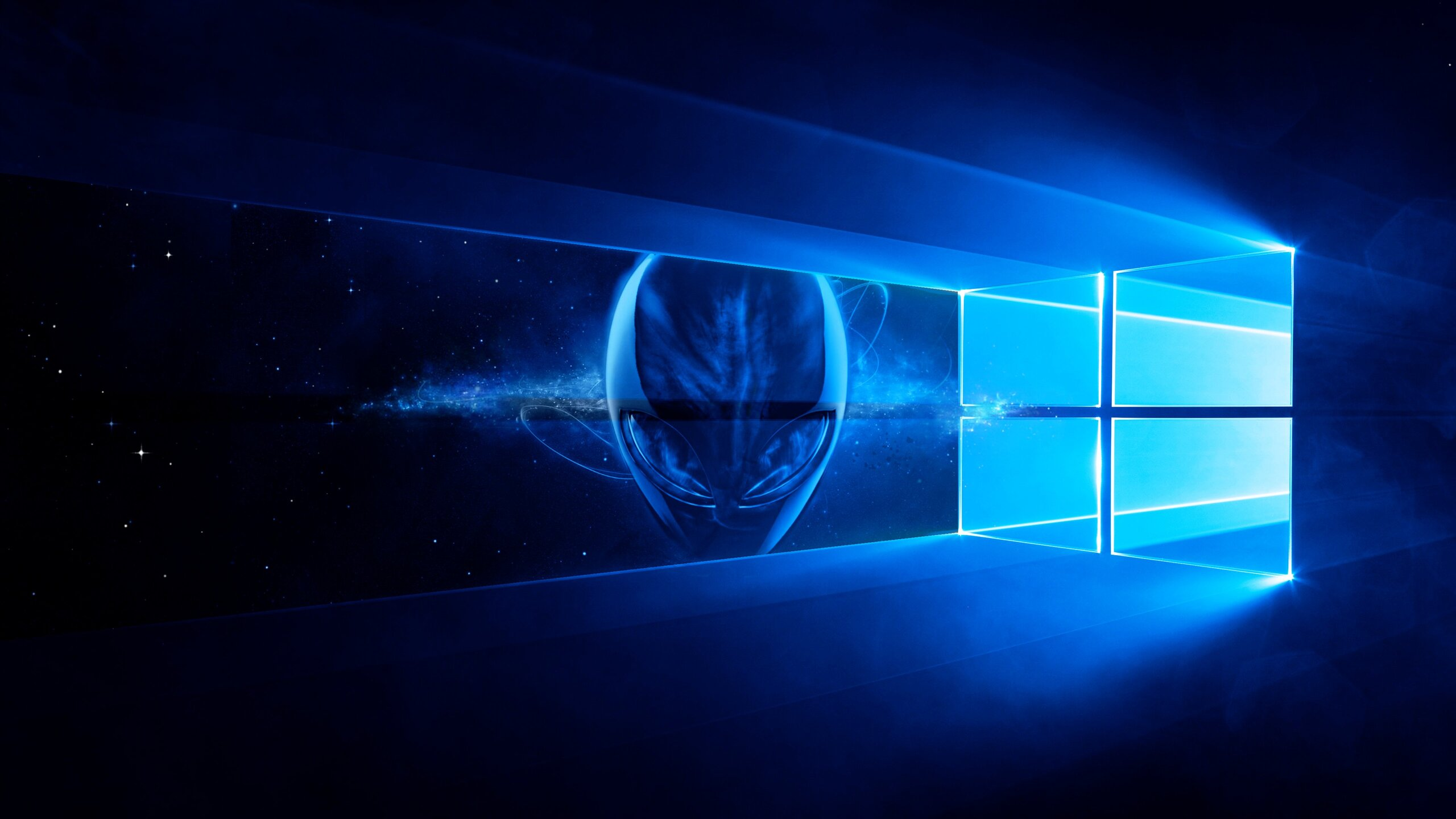 2560x1440 Alienware Windows 10 1440P Resolution HD 4k ...