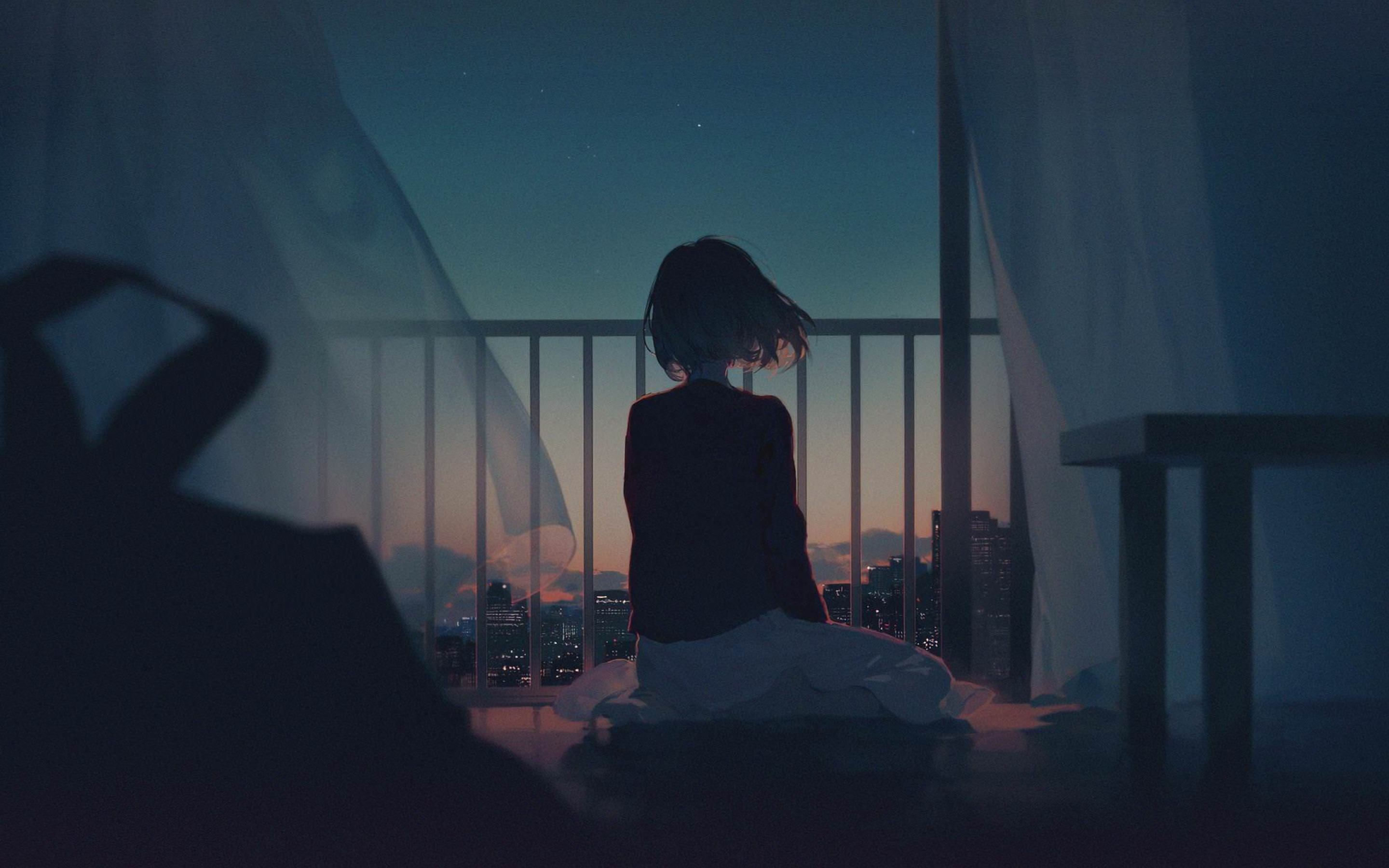 Alone girl artwork l9 jpg