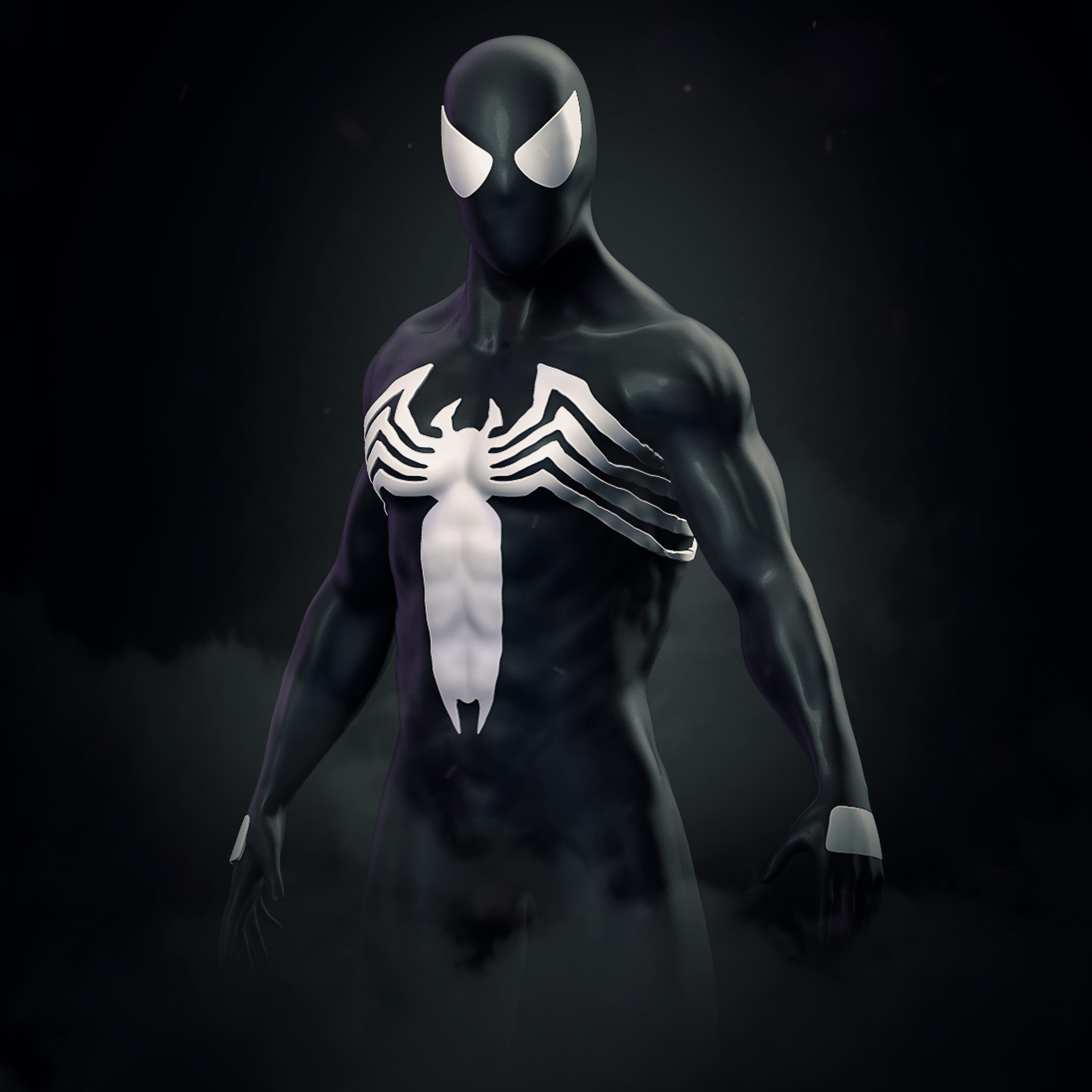 2048x2048 Amazing Spider Man Symbiote Suit Ipad Air HD 4k ...