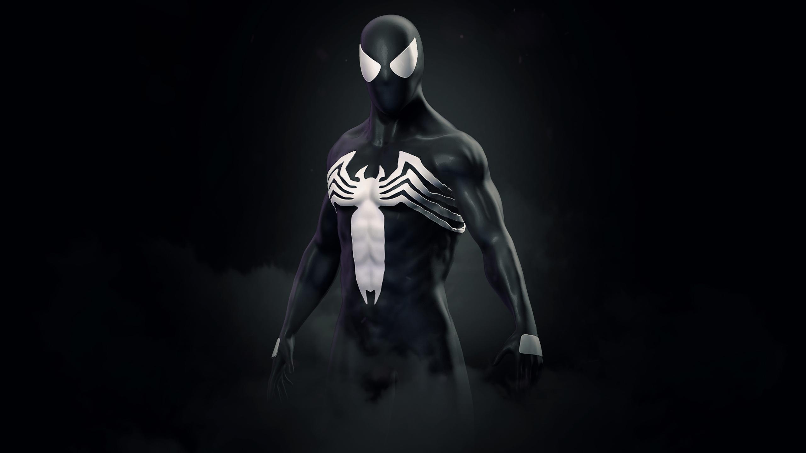 2560x1440 Amazing Spider Man Symbiote Suit 1440P ...