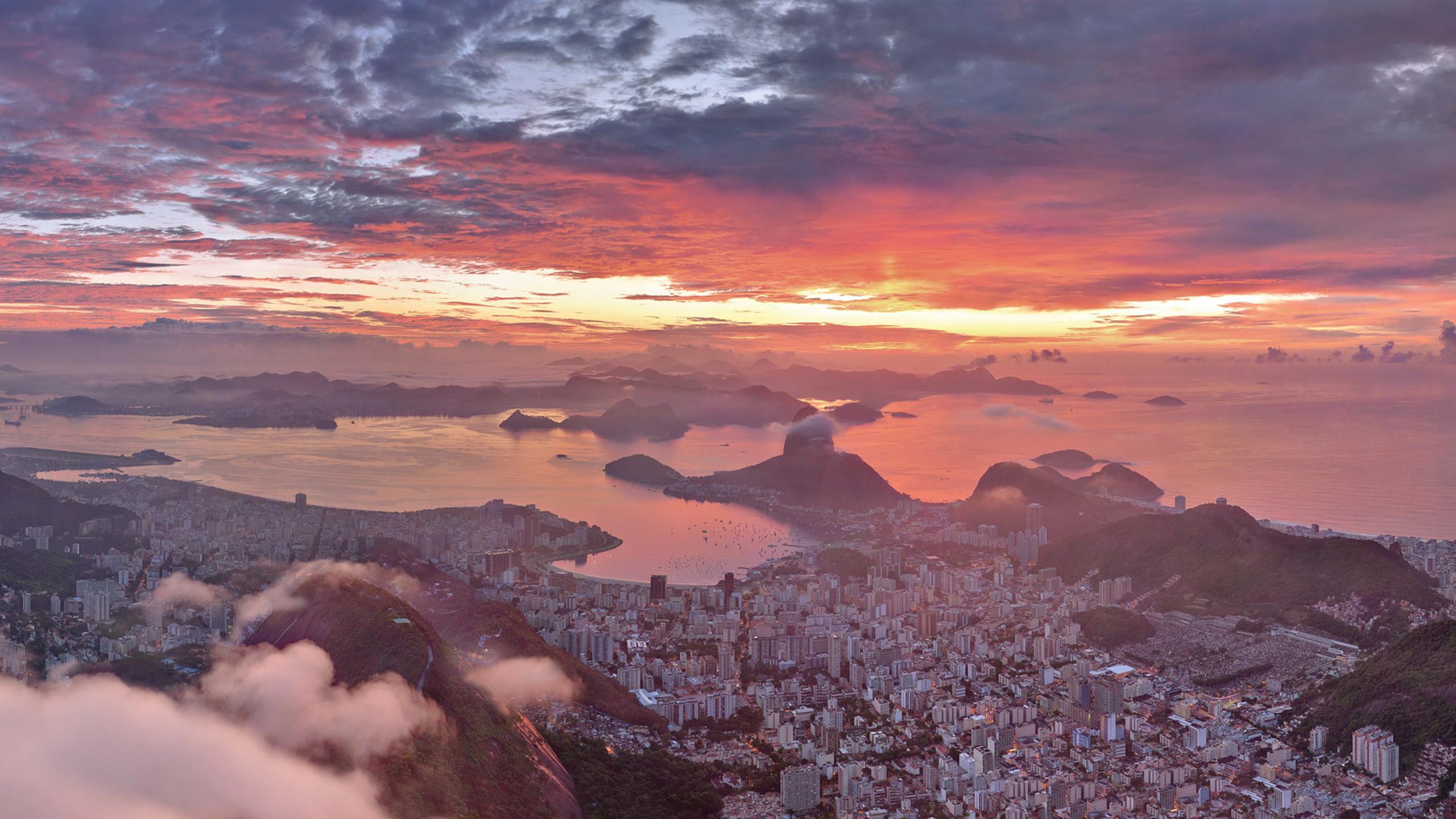 Рио-де-Жанейро перед рассветом  № 1457523 без смс