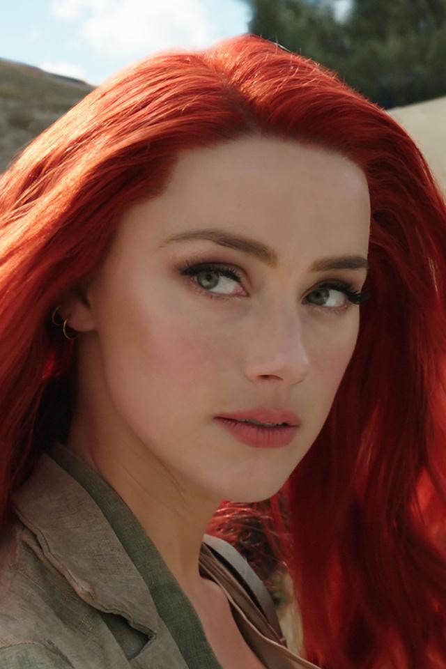 640x960 Amber Heard Mera Aquaman Movie Iphone 4 Iphone 4s Hd 4k
