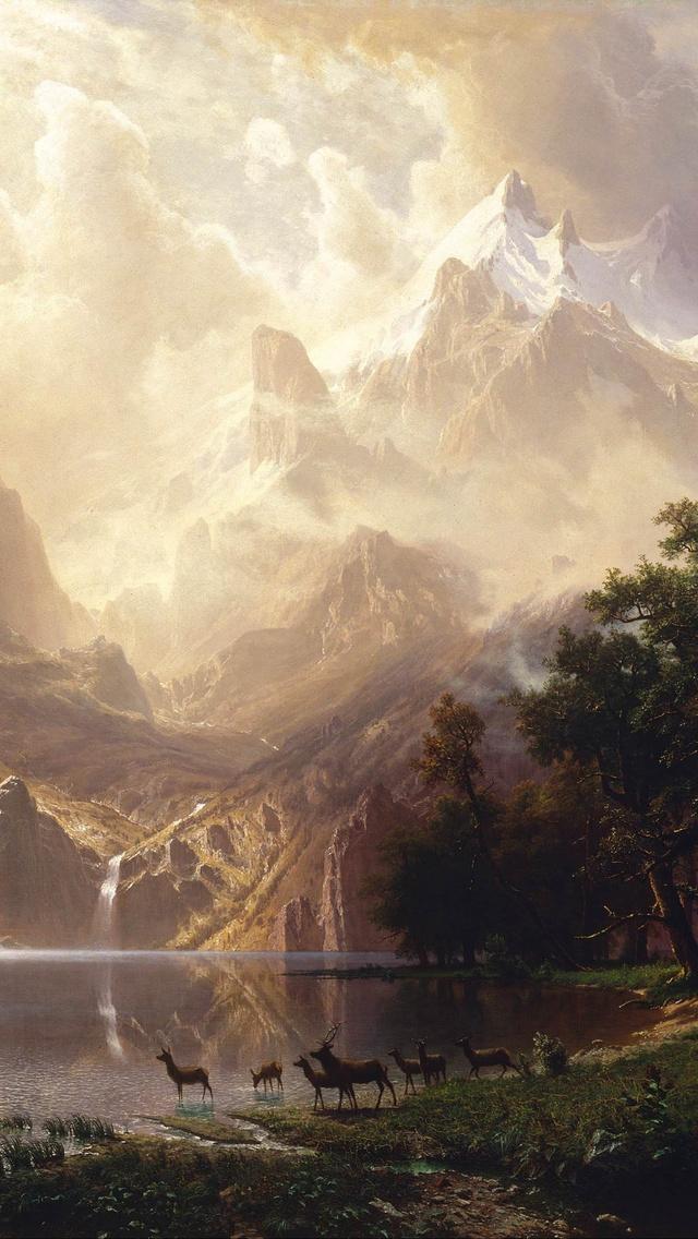 640x1136 Among The Sierra Nevada Mountains California Iphone