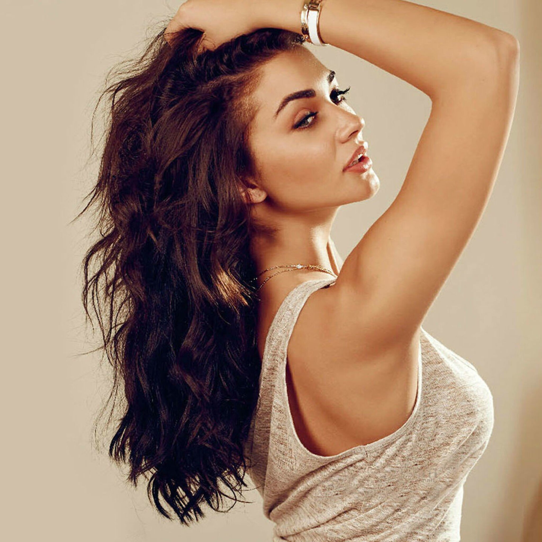 2048x2048 amy jackson indian ipad air hd 4k wallpapers, images