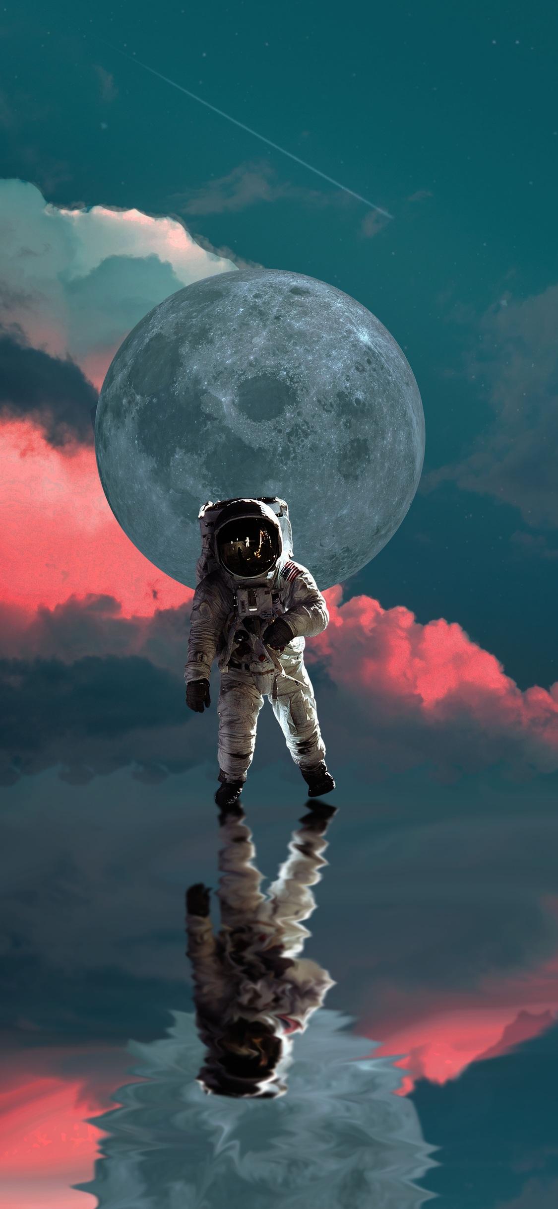 1125x2436 An Astronaut 4k Iphone Xsiphone 10iphone X Hd 4k