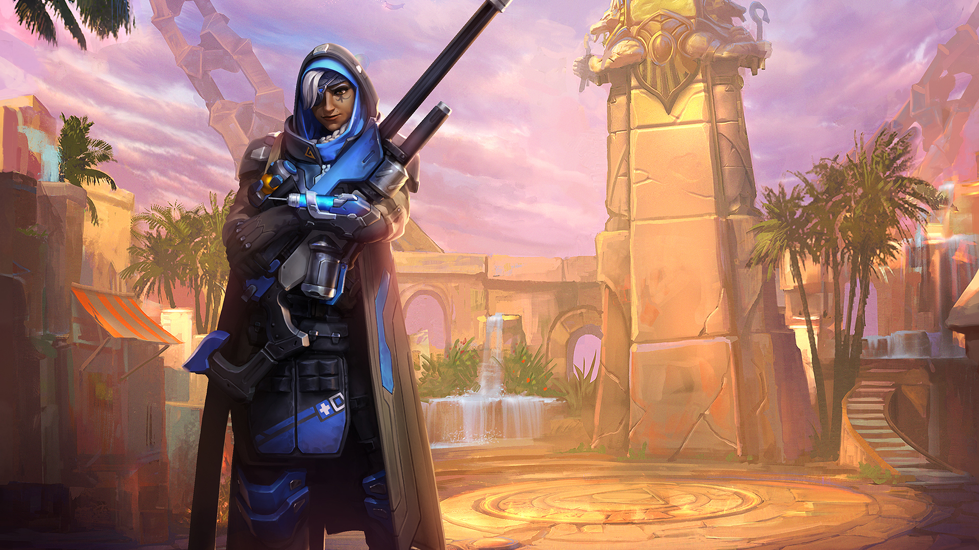 19x1080 Ana Overwatch Sniper Laptop Full Hd 1080p Hd 4k Wallpapers Images Backgrounds Photos And Pictures