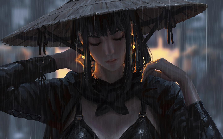 ancient-warrior-girl-rain-hat-4k-k9.jpg