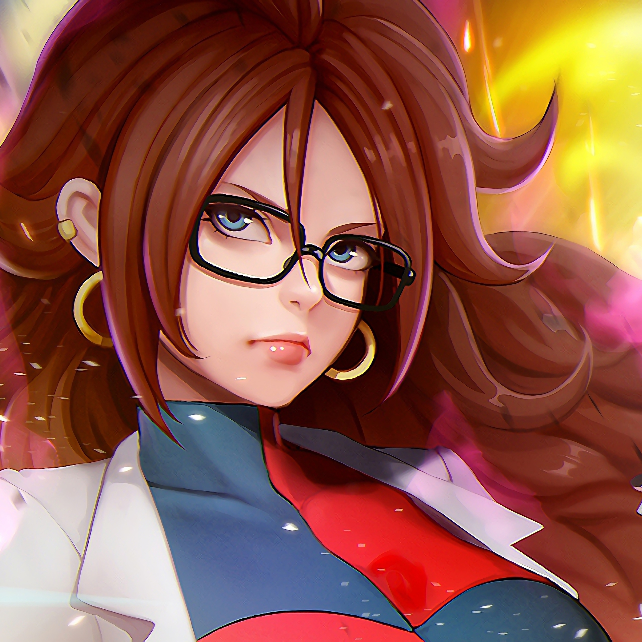 2048x2048 android 21 dragon ball fighter z ipad air hd 4k - Dragon ball z 21 ...