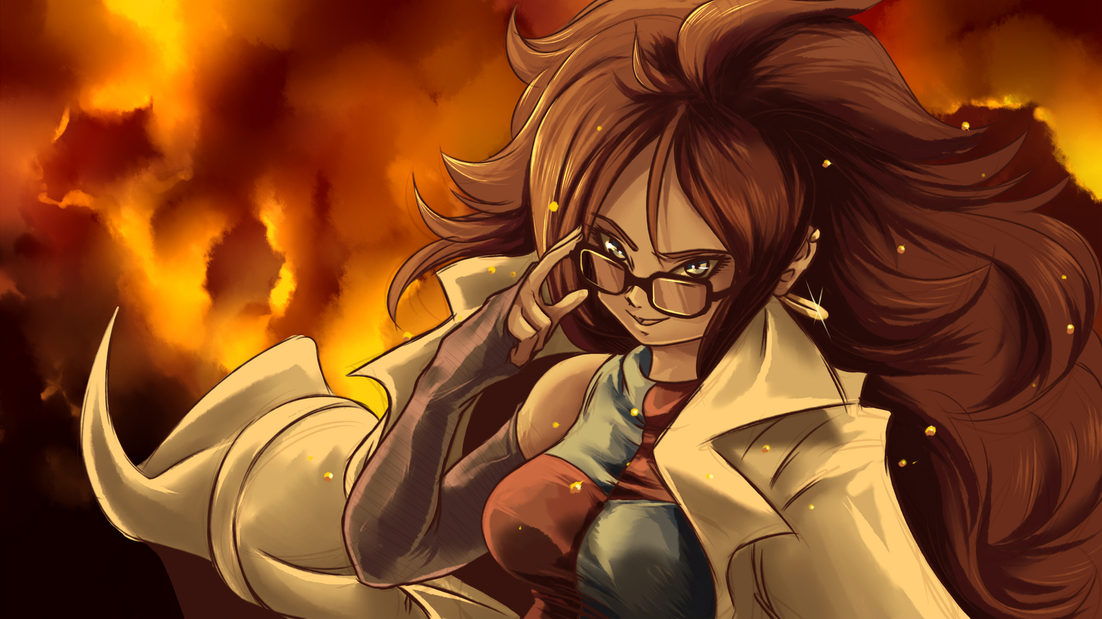 1600x900 Android 21 Dragon Ball Fighterz 1600x900 Resolution