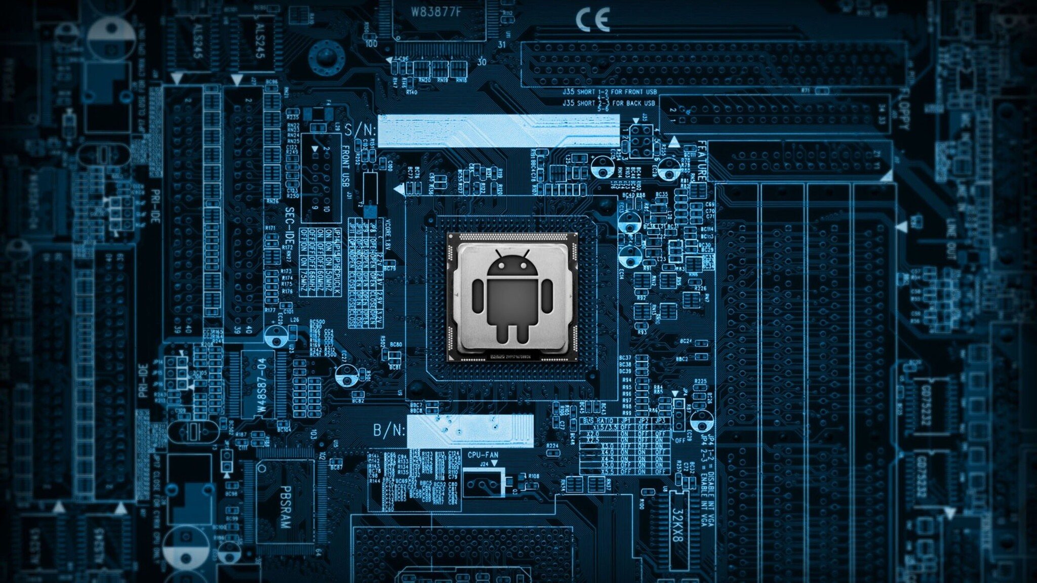 2048x1152 android circuit board 2048x1152 resolution hd 4k - Circuit board wallpaper android ...