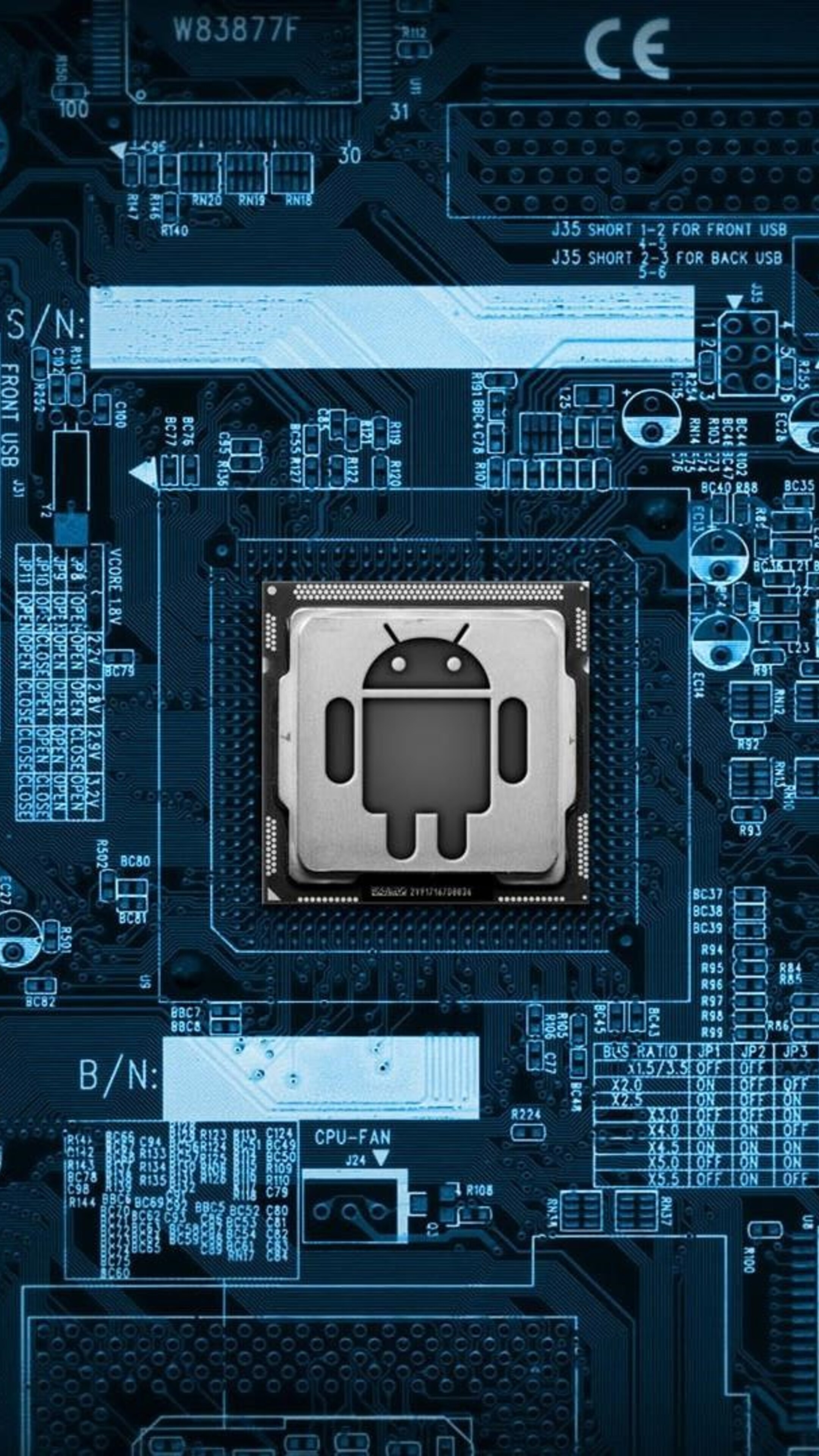 2160x3840 android circuit board sony xperia x xz z5 - Circuit board wallpaper android ...