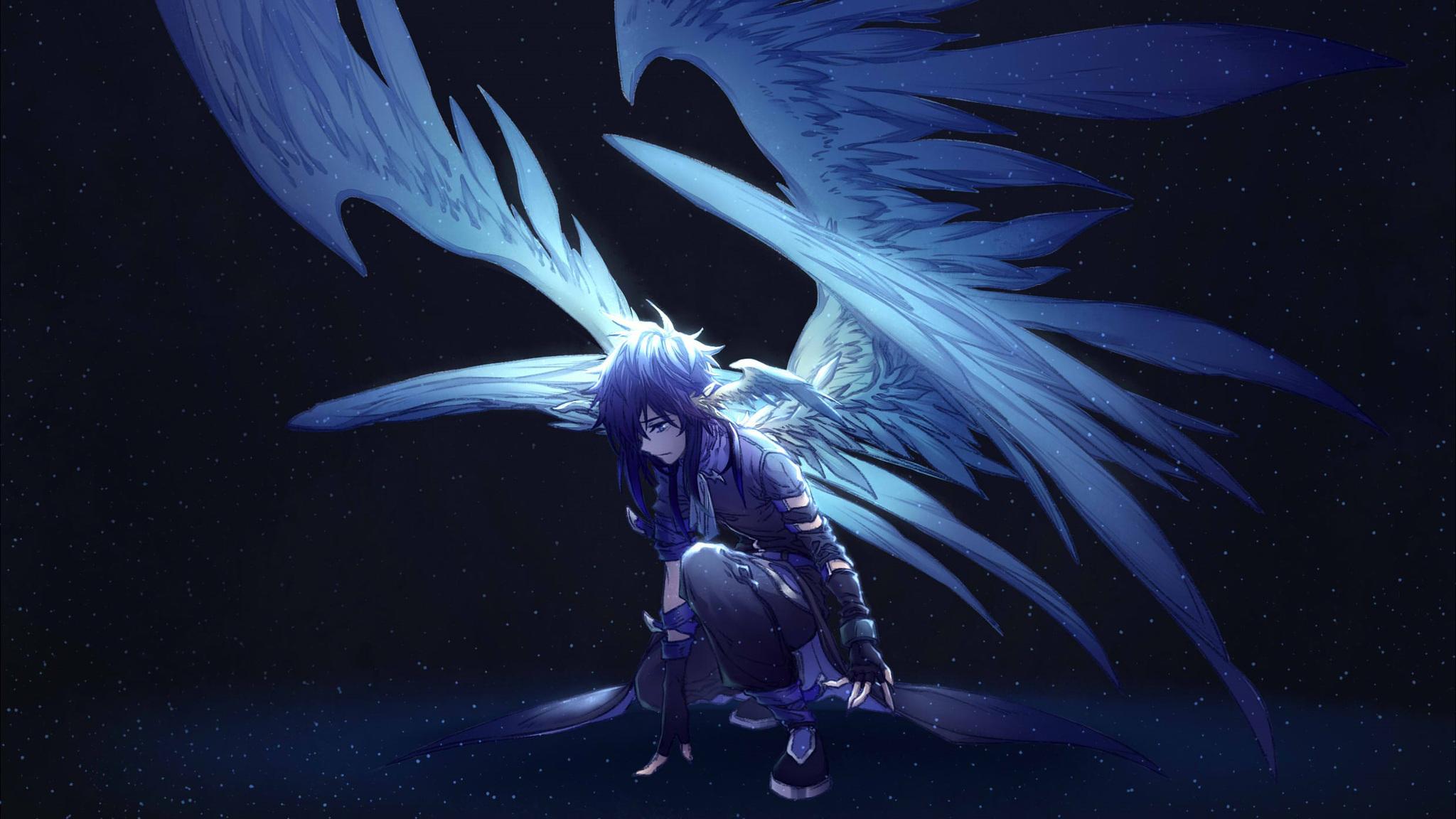 Anime 4k Wallpaper: 2048x1152 Angel Anime 2048x1152 Resolution HD 4k