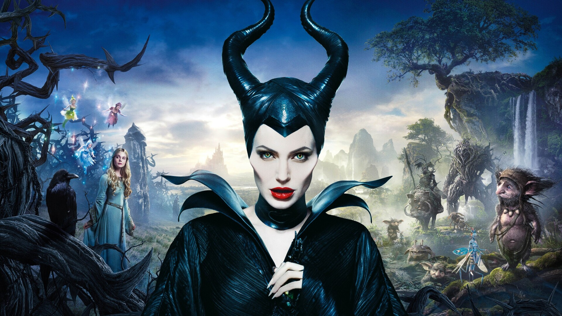1920x1080 Angelina Jolie In Maleficent Movie Laptop Full Hd