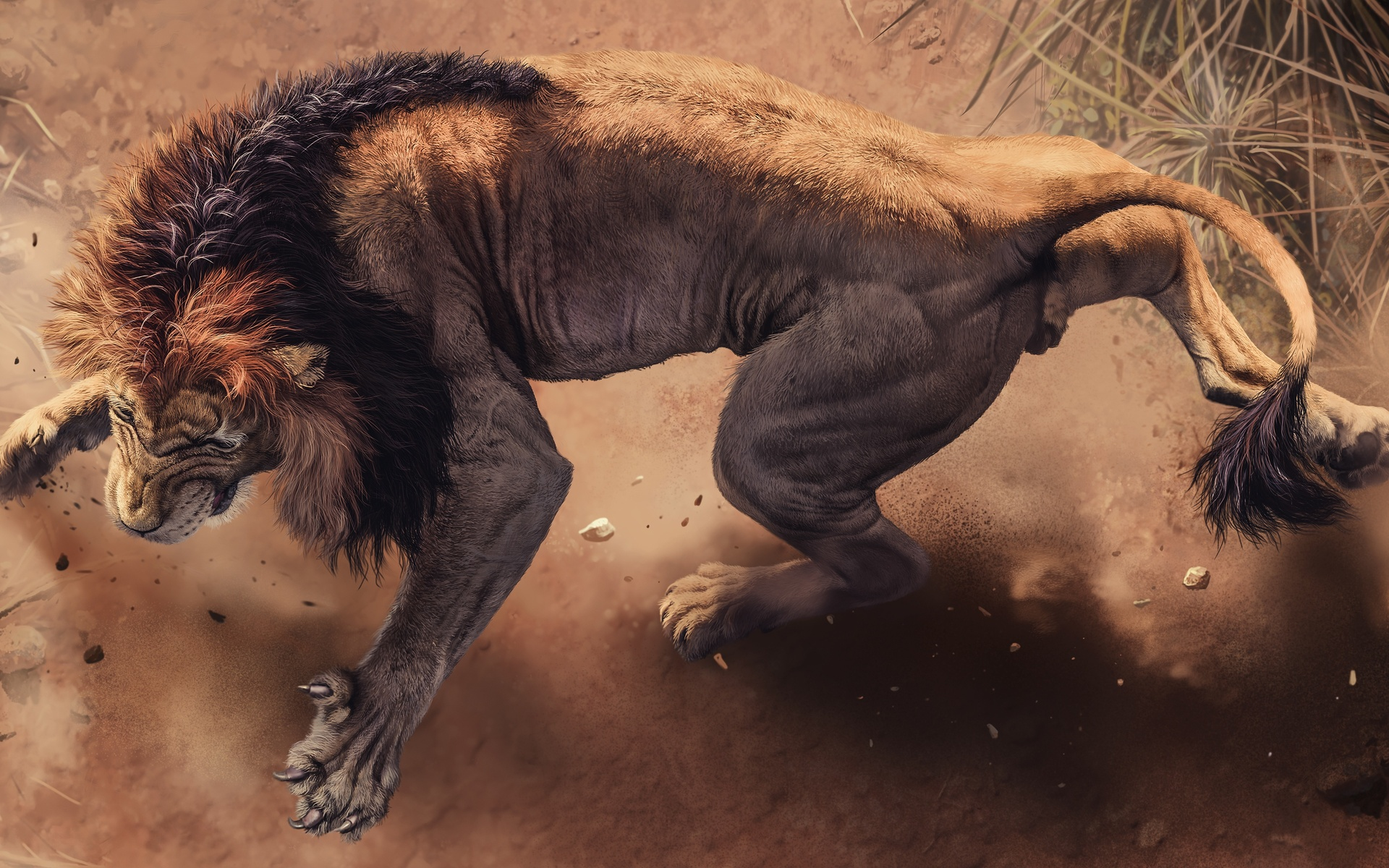 1920x1200 Angry Lion 1080p Resolution Hd 4k Wallpapers