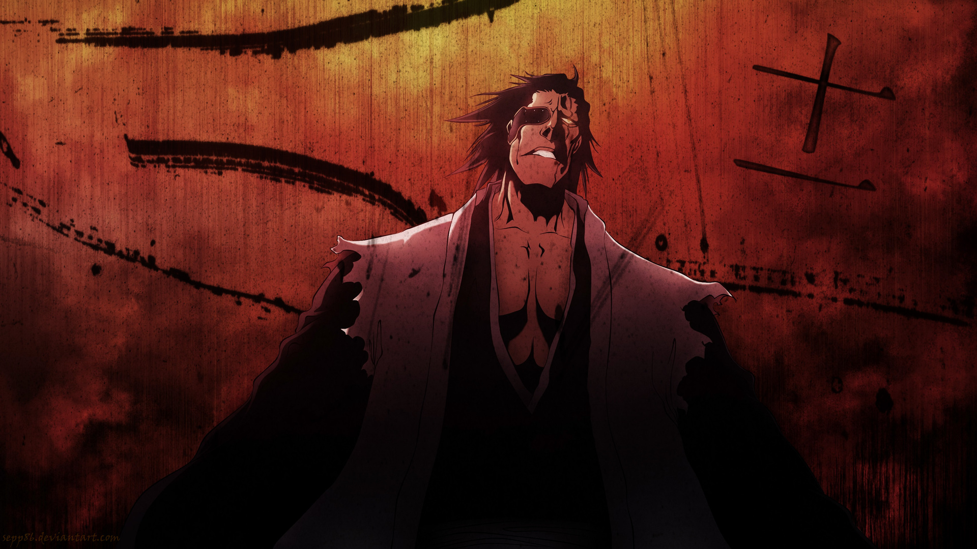 1920x1080 Anime Bleach Kenpachi Zaraki Laptop Full Hd 1080p Hd 4k